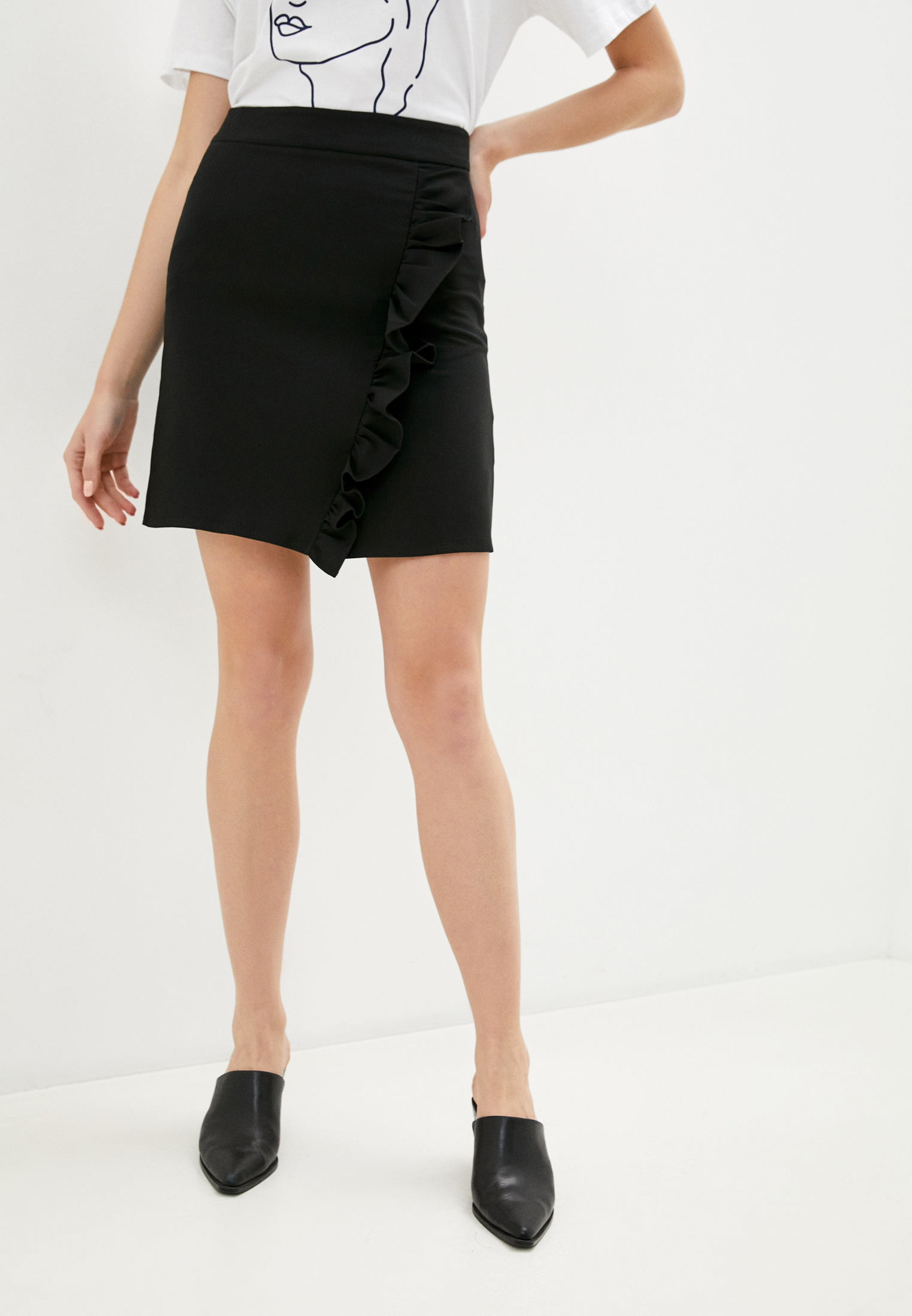Прямая юбка Trendyol TWOAW21ET0163