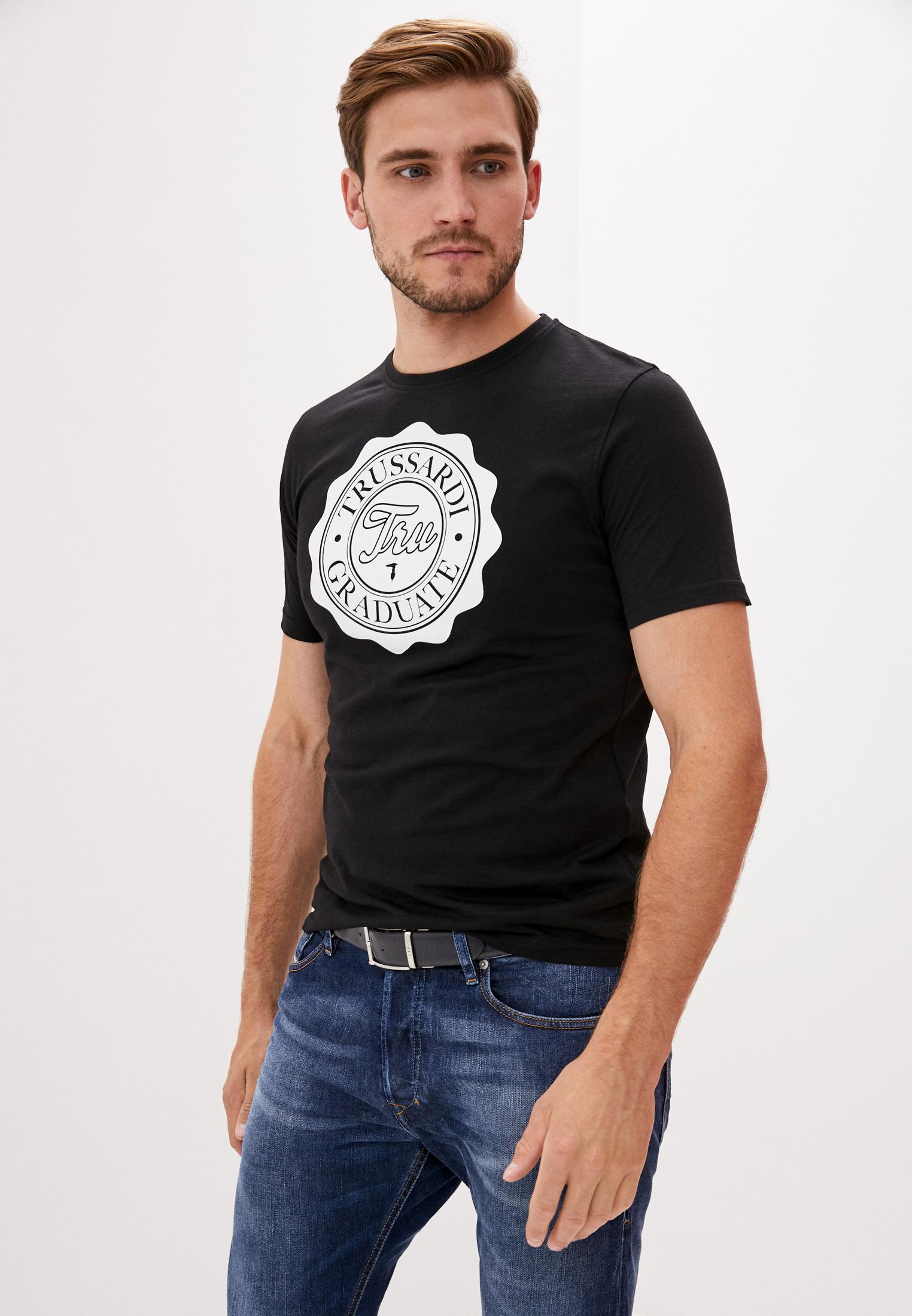 Мужская футболка Tru Trussardi (Тру Труссарди) 32T001541T004448K299
