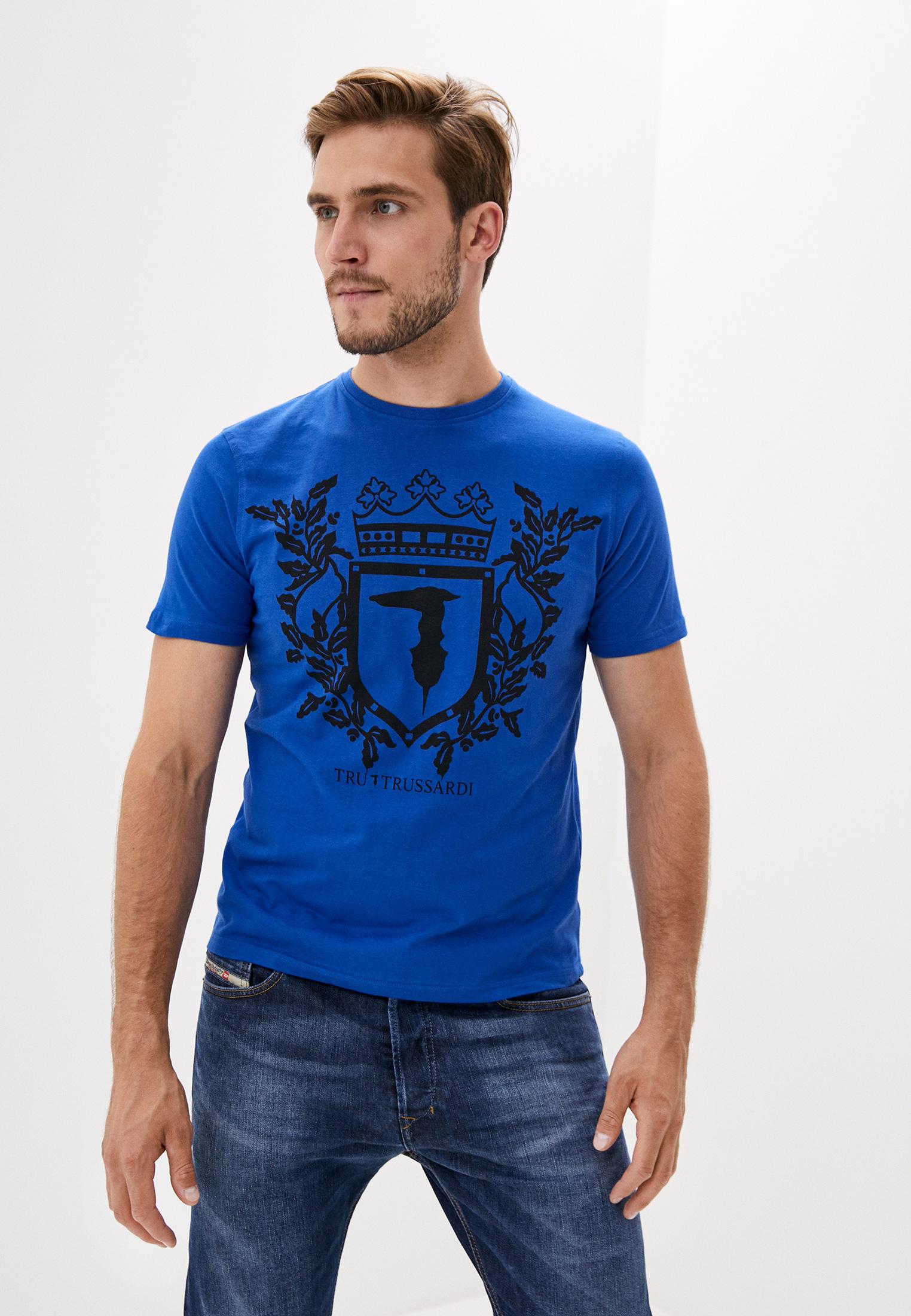 Мужская футболка Tru Trussardi (Тру Труссарди) 32T001561T004448U250