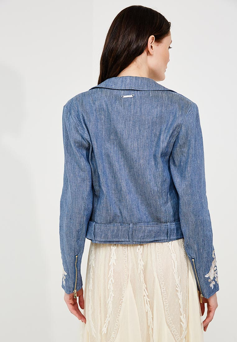 Кожаная куртка Twin-Set Simona Barbieri TS82YN: изображение 3