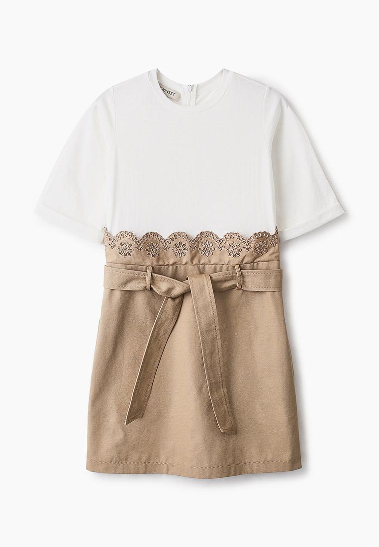 Повседневное платье Twinset Milano 201GJ2152