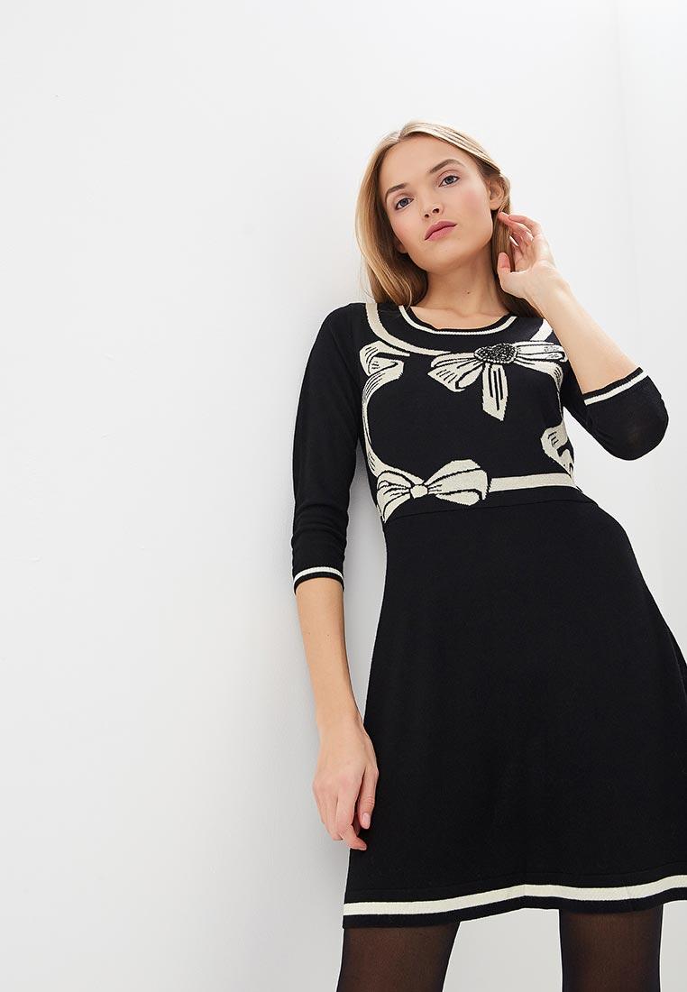 1db5d1f7bbf7 Вязаное платье женское Twinset Milano PA83HU купить за 15190 руб.