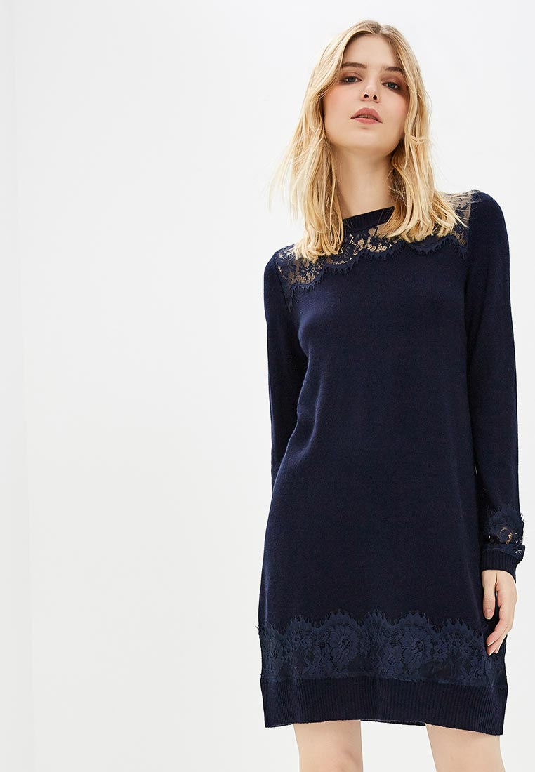 Вязаное платье Twinset Milano TA83AH