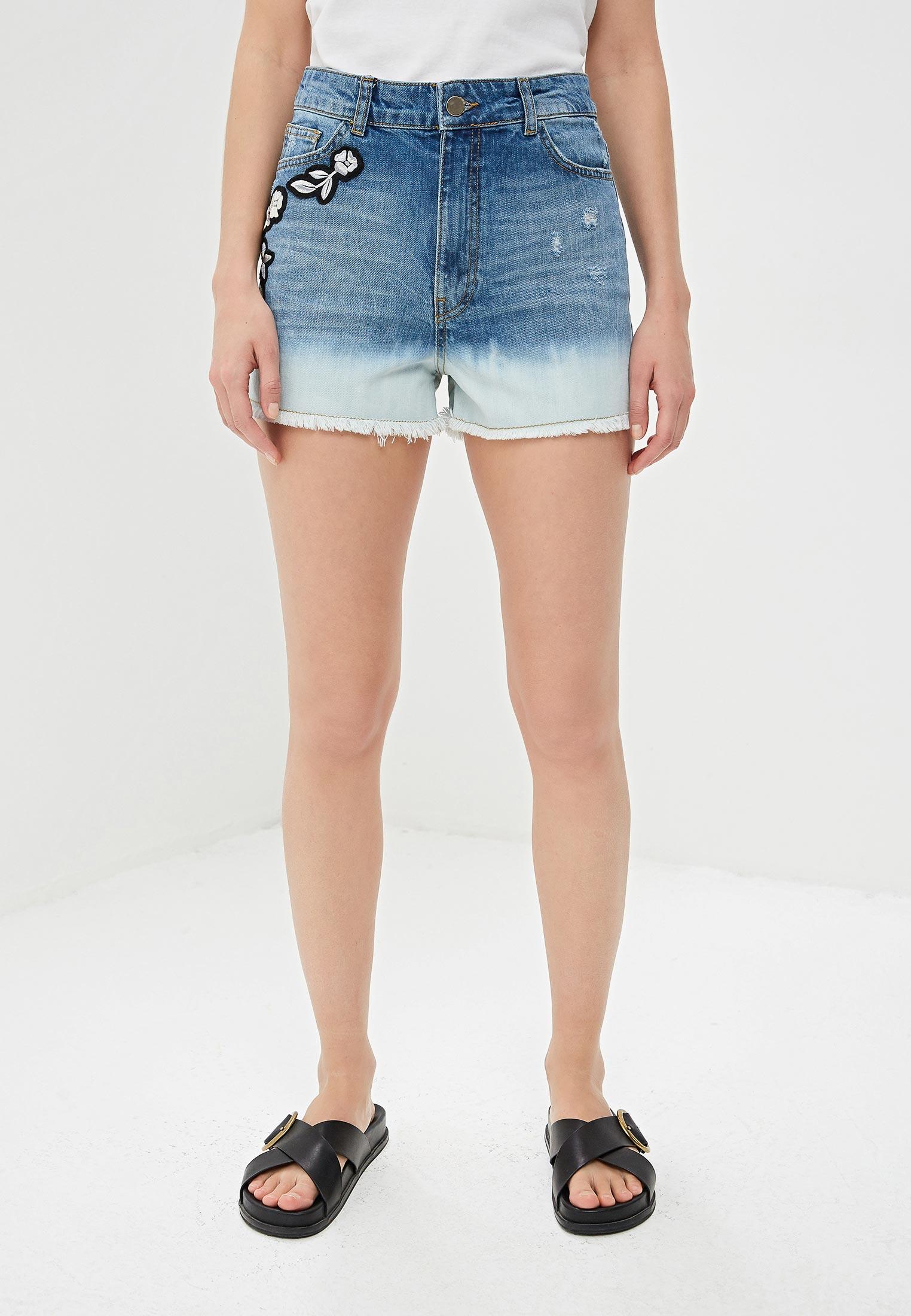 Женские джинсовые шорты Twinset Milano 191TT2052