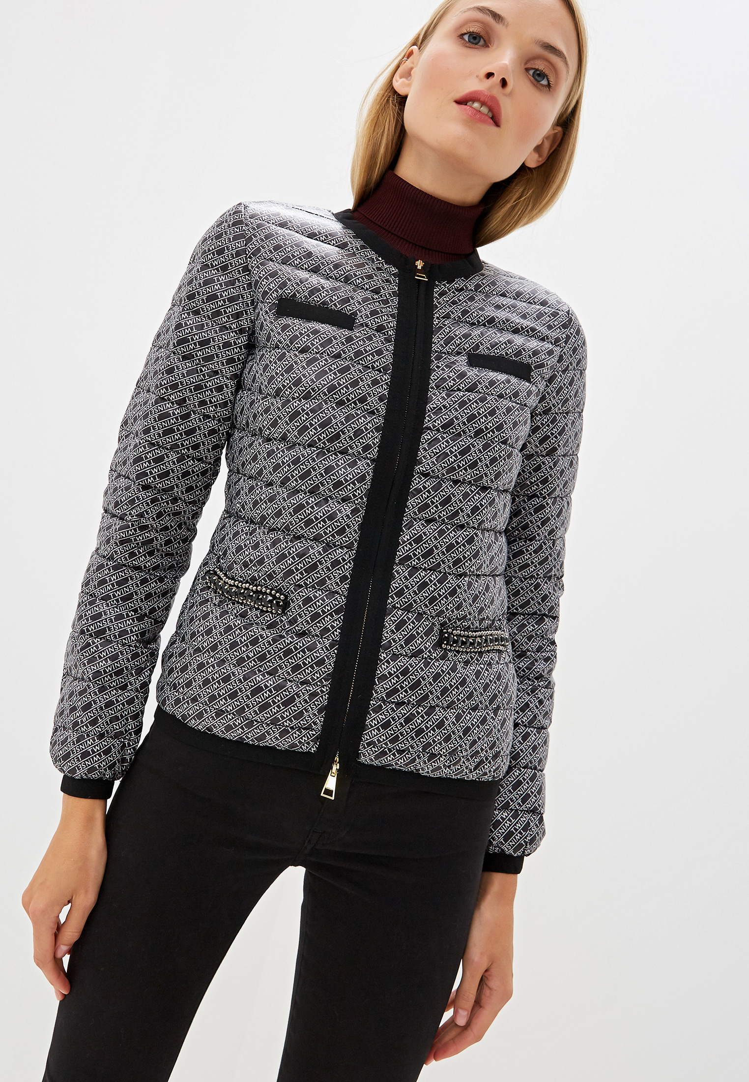 Утепленная куртка Twinset Milano 192TP2582