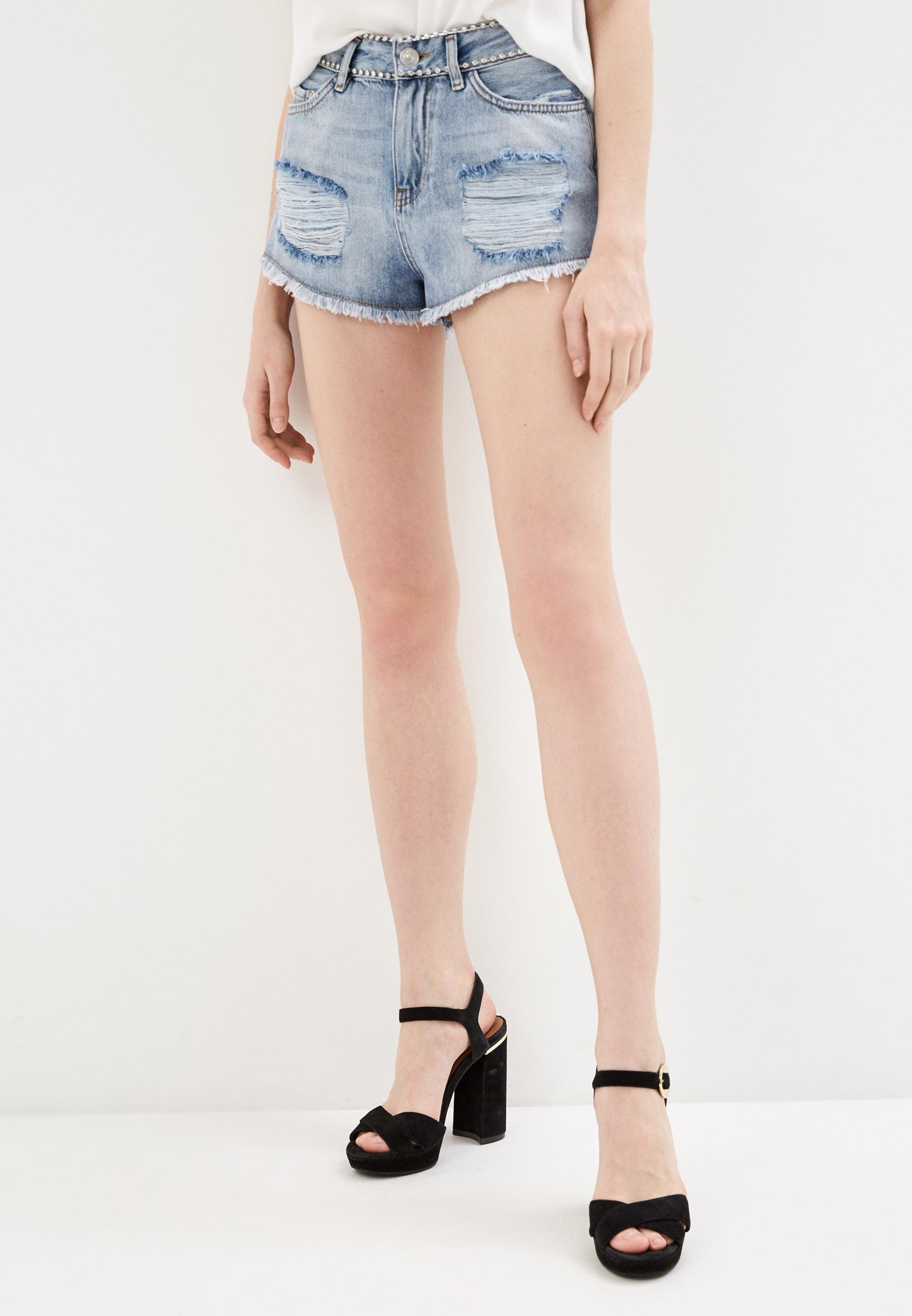 Женские джинсовые шорты Twinset Milano 201MP2272