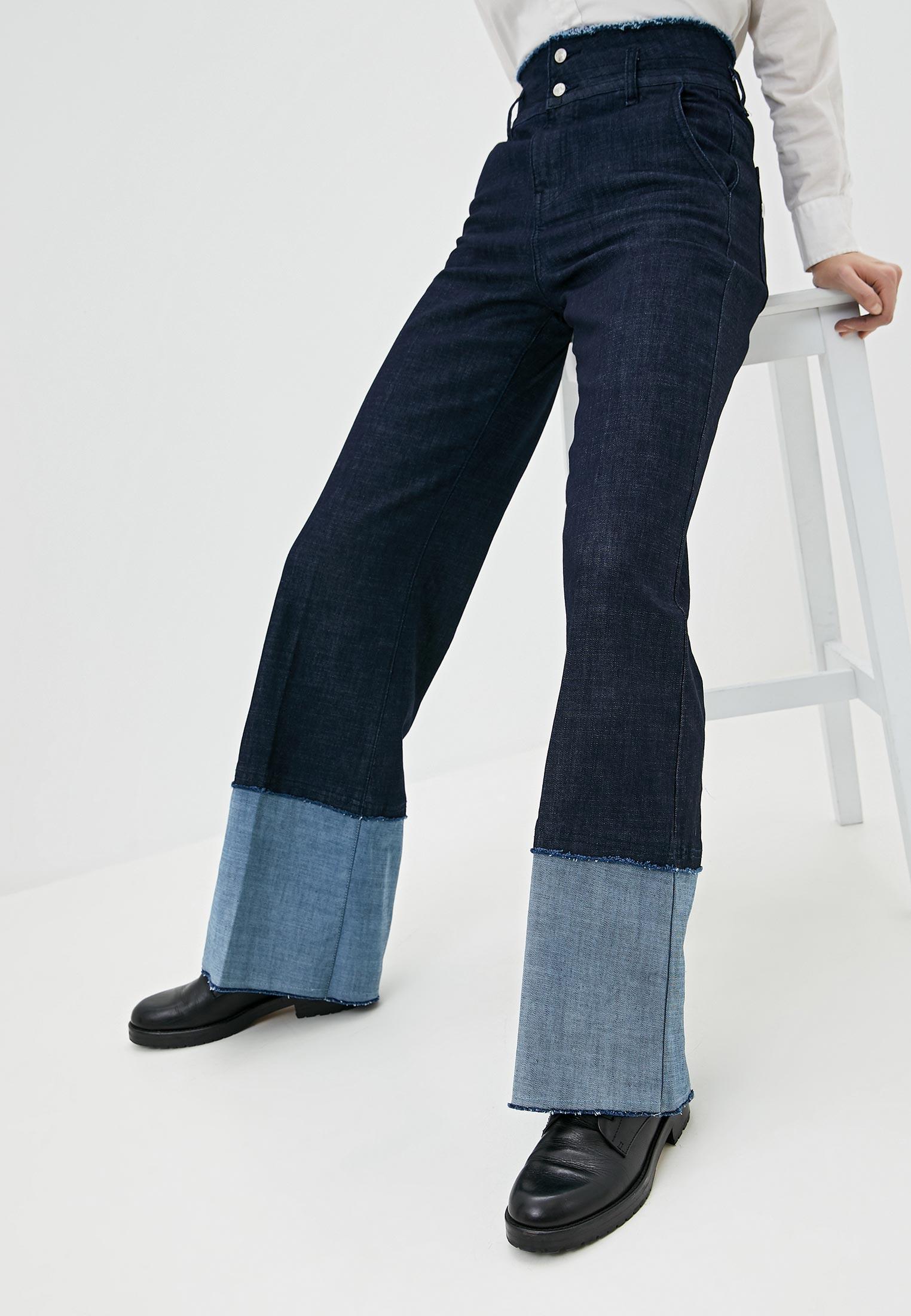 Широкие и расклешенные джинсы Twinset Milano 201MP2340