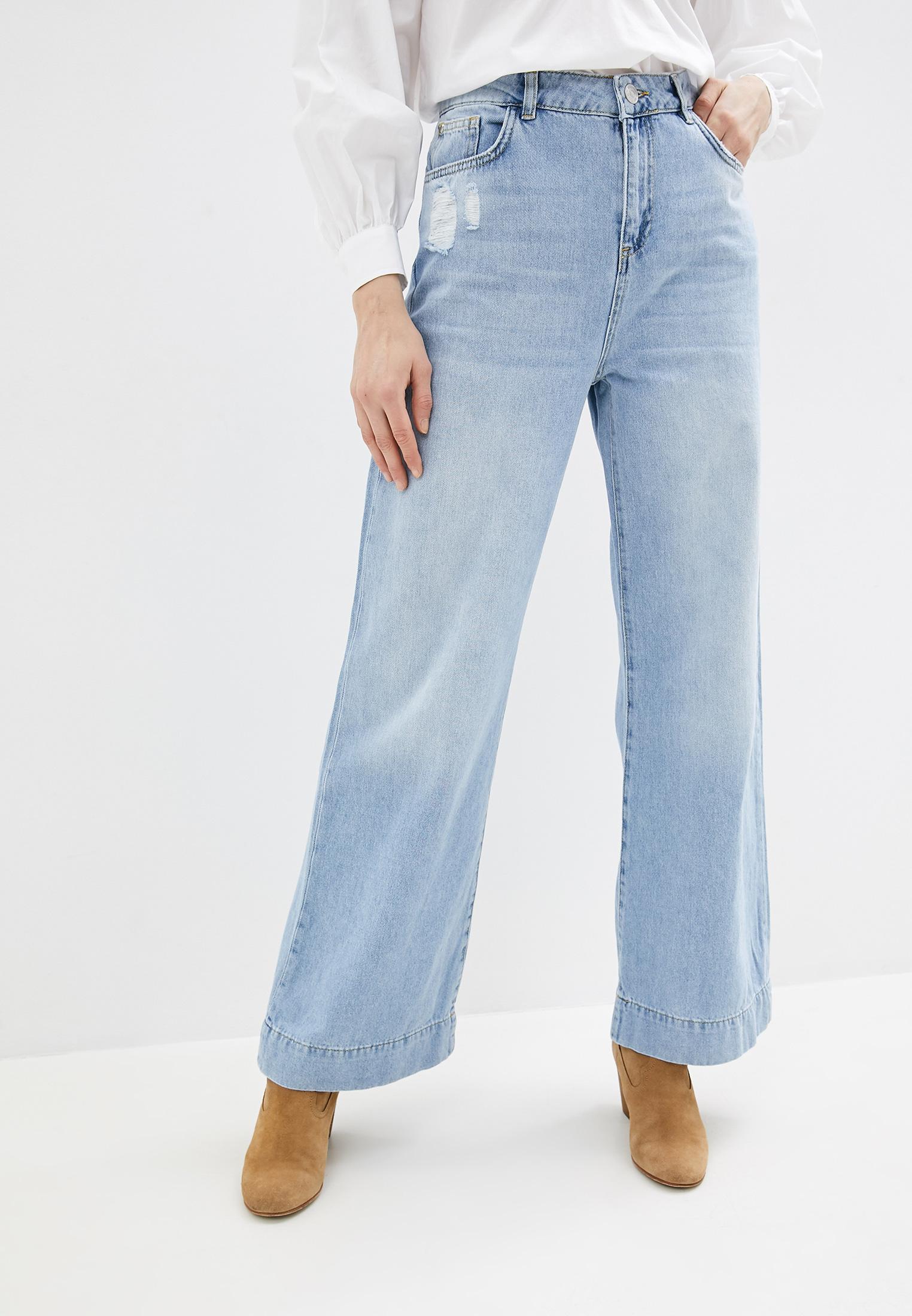Широкие и расклешенные джинсы Twinset Milano 201MP2281