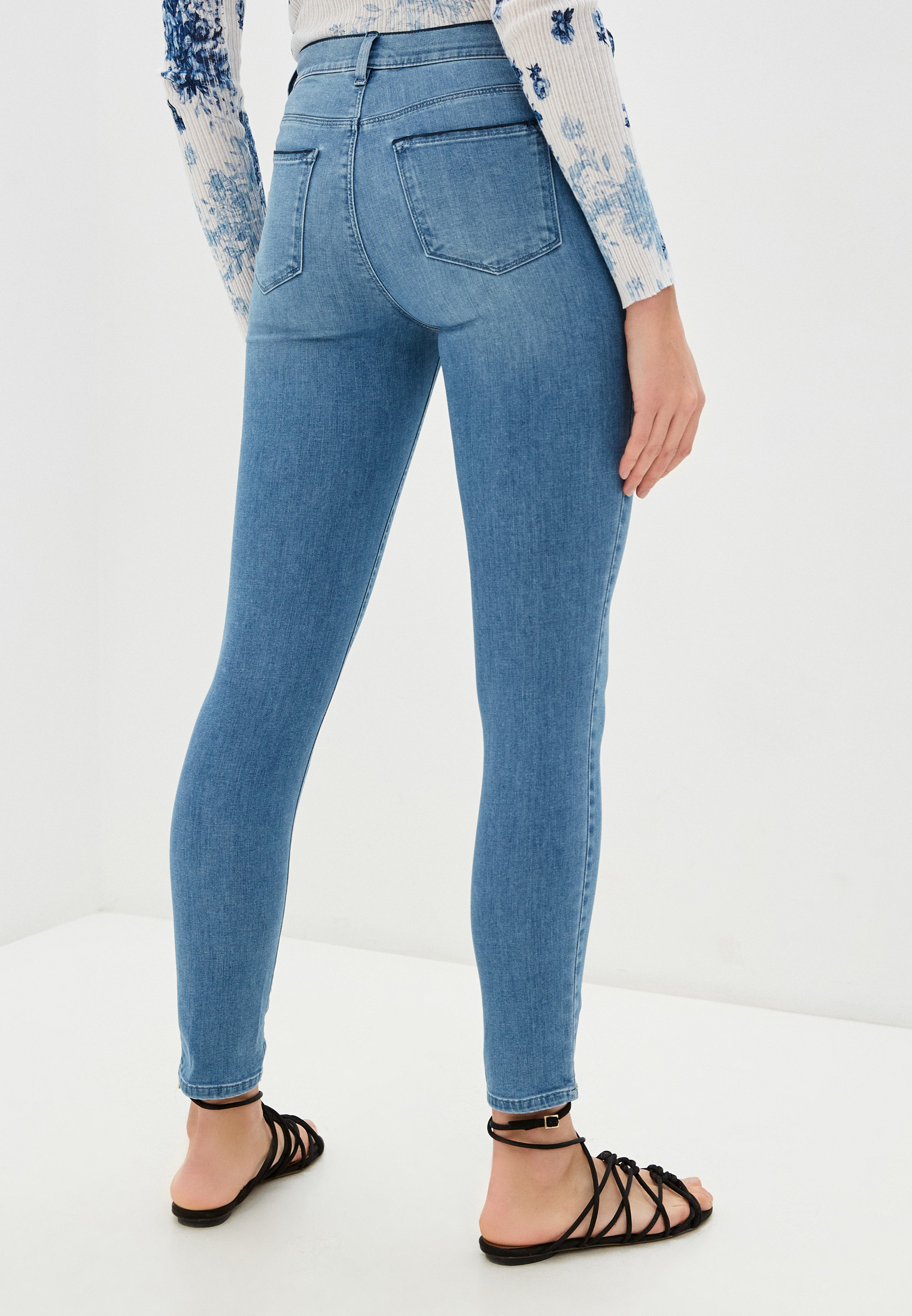 Зауженные джинсы Twinset Milano 201MP227L: изображение 3