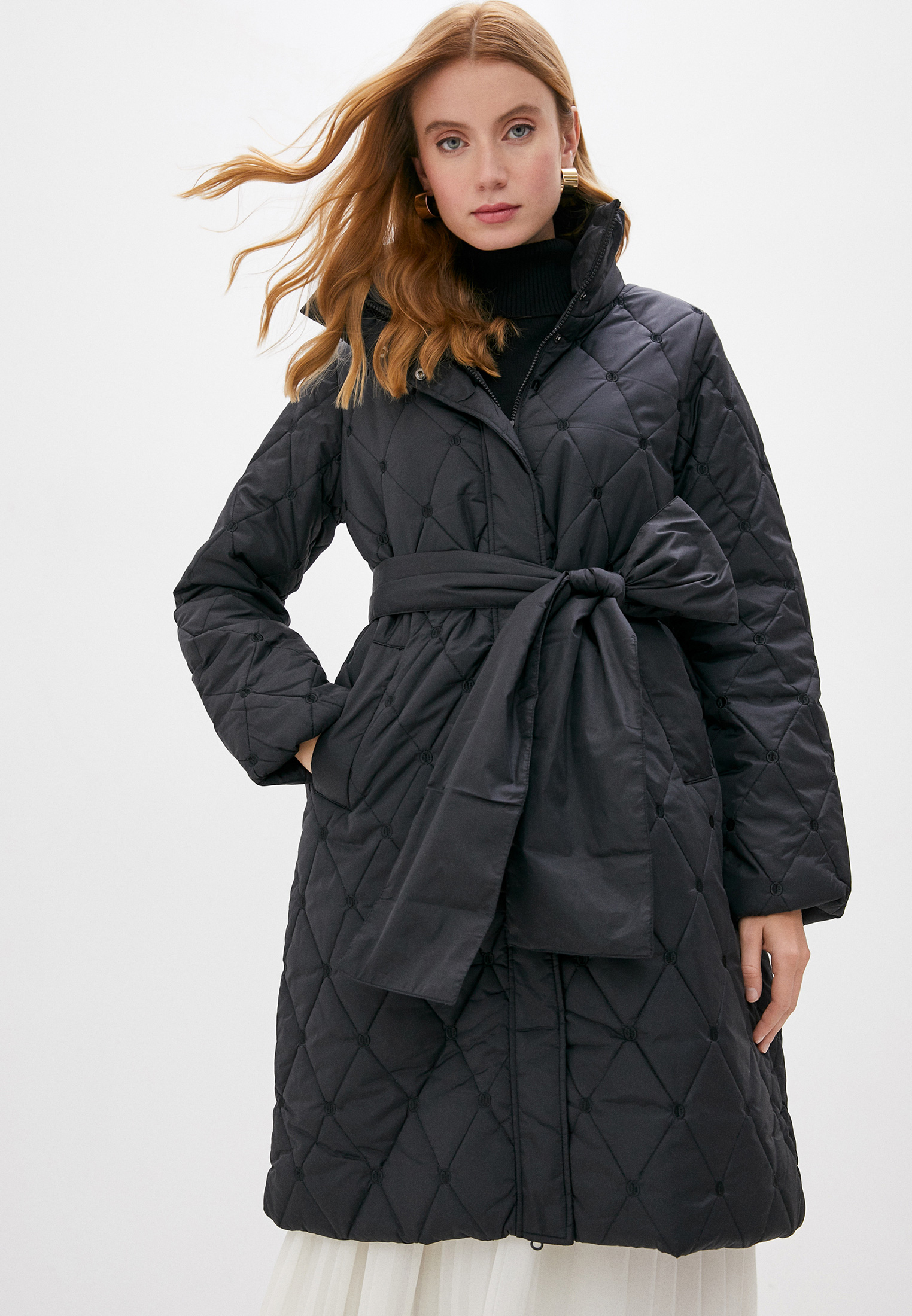 Утепленная куртка Twinset Milano 202ST2091