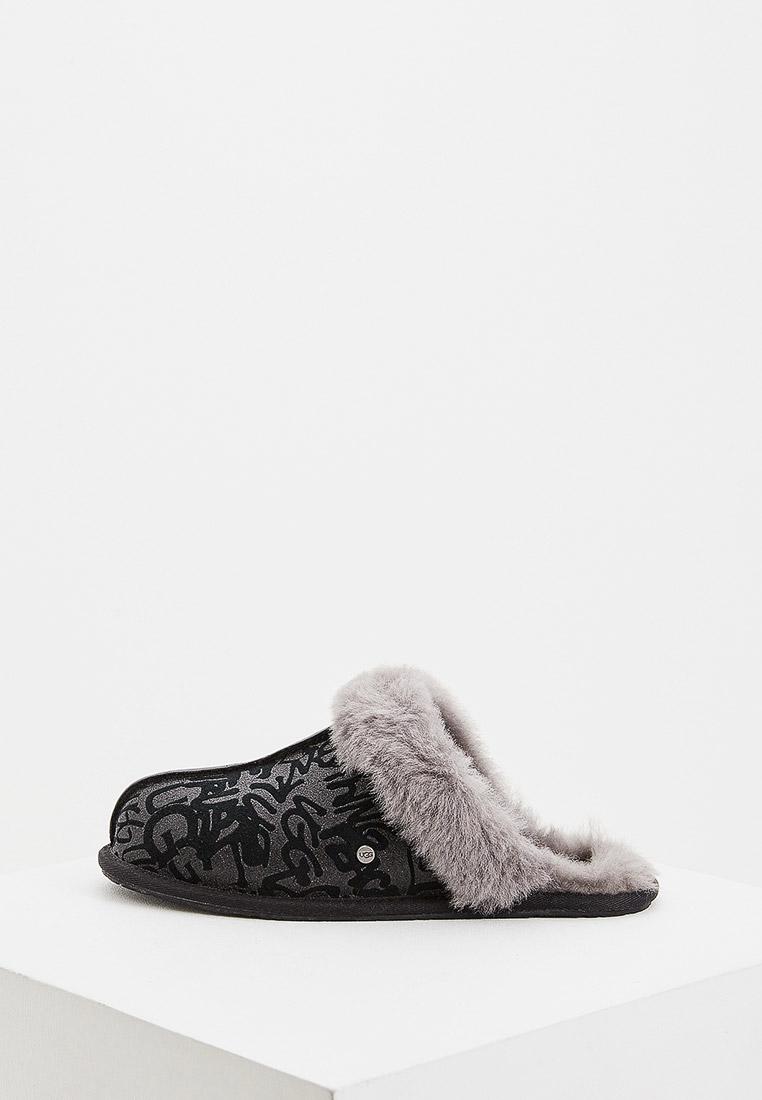 Женская домашняя обувь UGG 1108149_BLK