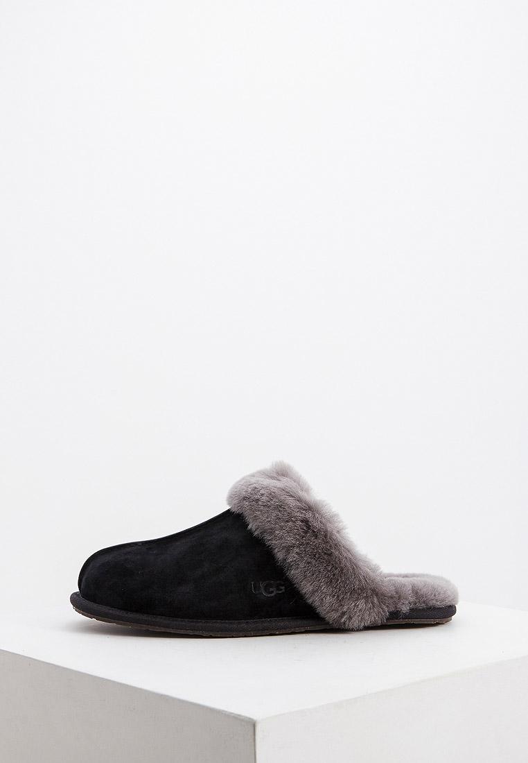 Женская домашняя обувь UGG 5661_BKGY