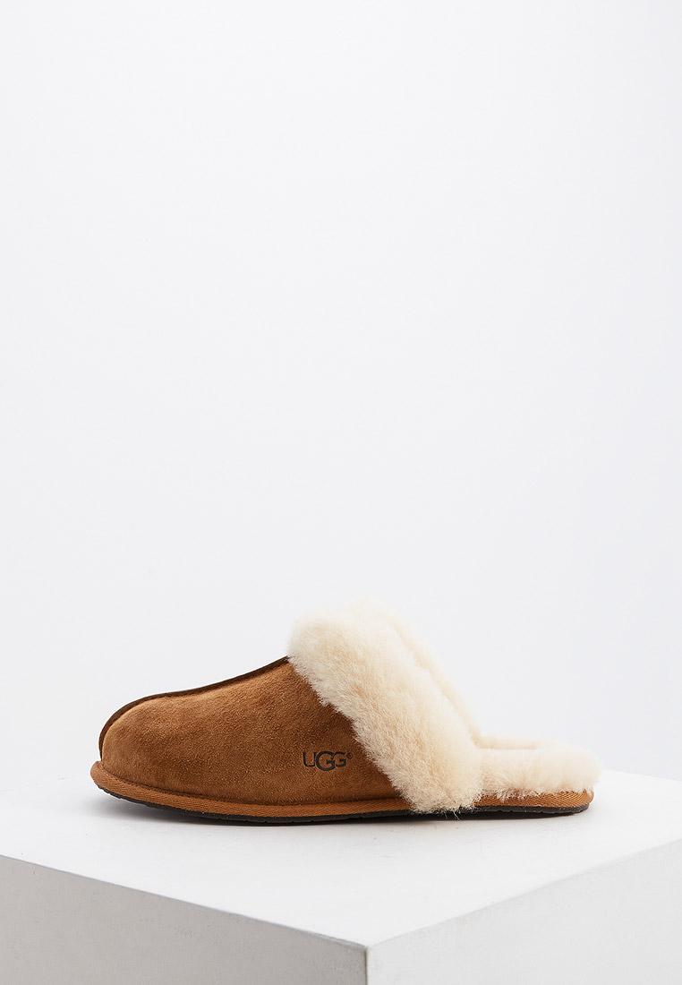 Женская домашняя обувь UGG 5661_CHE