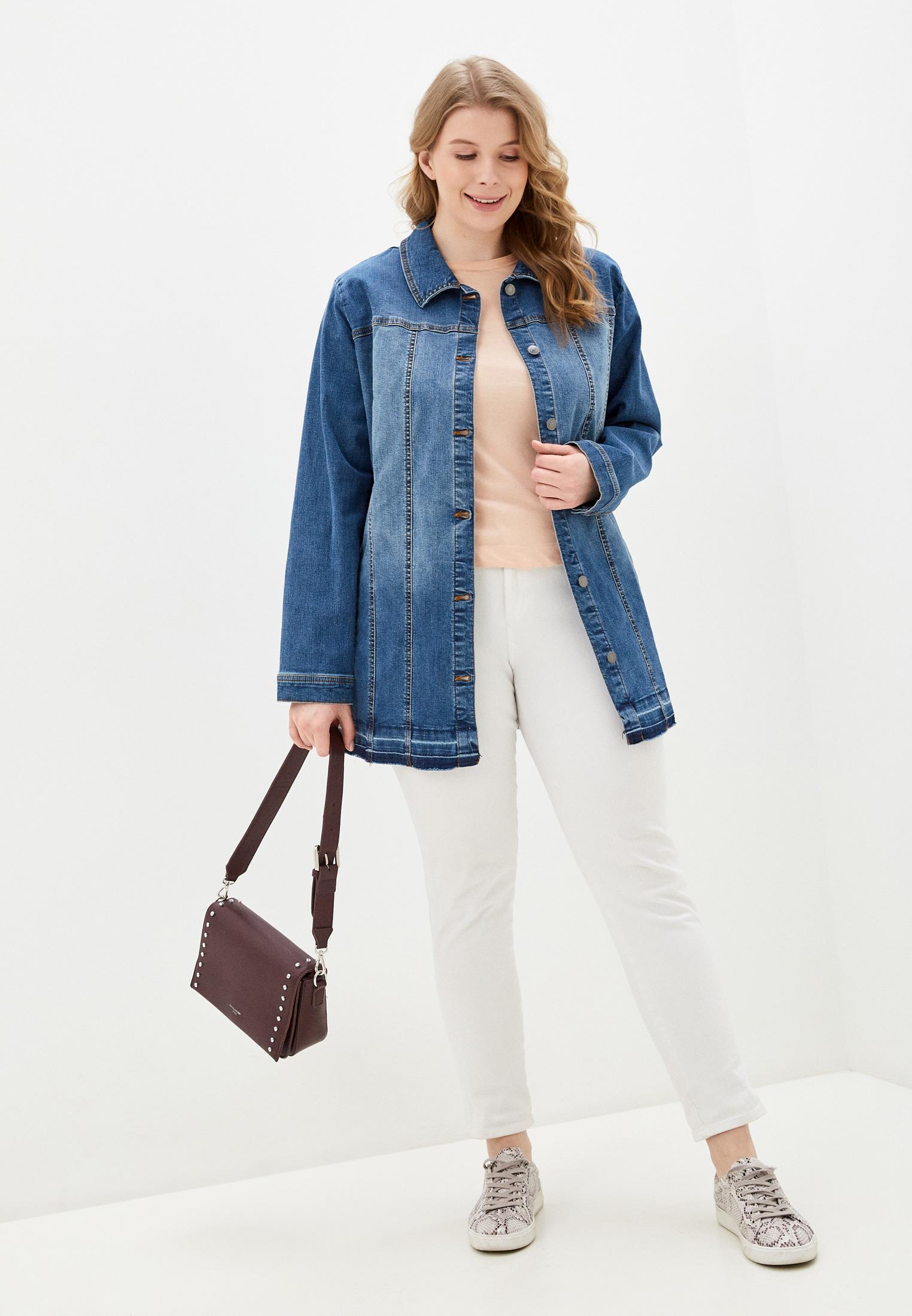 Джинсовая куртка Ulla Popken (Улла Пупкин) 727288: изображение 2
