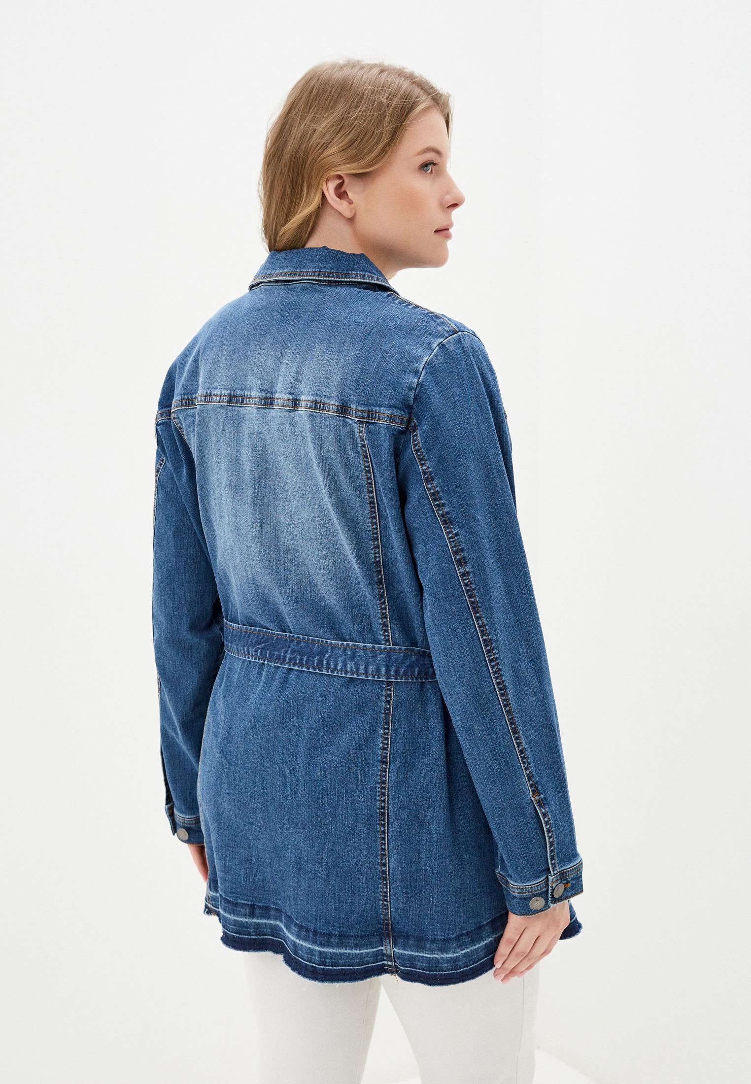 Джинсовая куртка Ulla Popken (Улла Пупкин) 727288: изображение 3