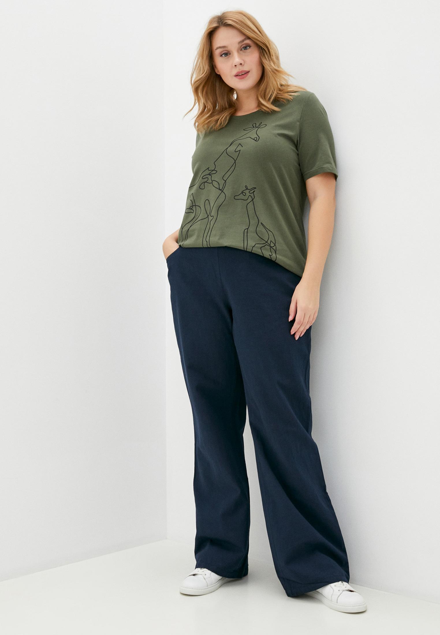 Женские прямые брюки Ulla Popken (Улла Пупкин) 74889076: изображение 2
