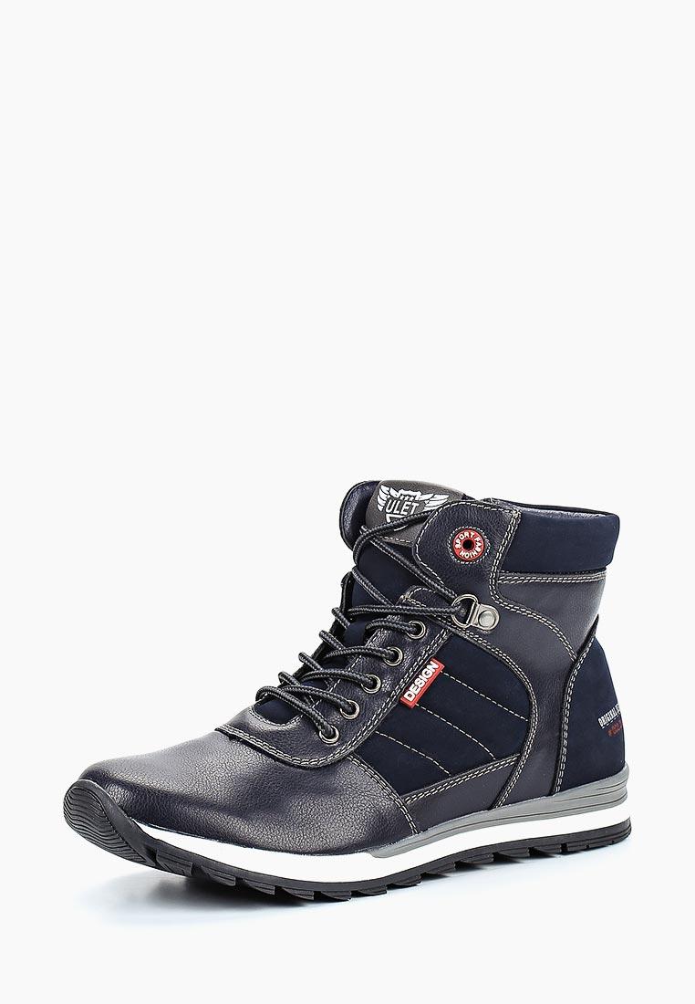 Ботинки для мальчиков Ulёt 6052-0904