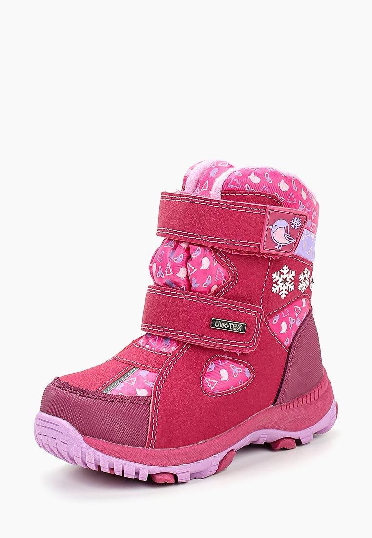 Ботинки для девочек Ulёt 1808