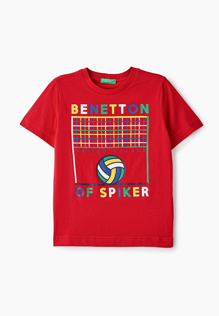 Футболка с коротким рукавом United Colors of Benetton (Юнайтед Колорс оф Бенеттон) 3096C14Q9