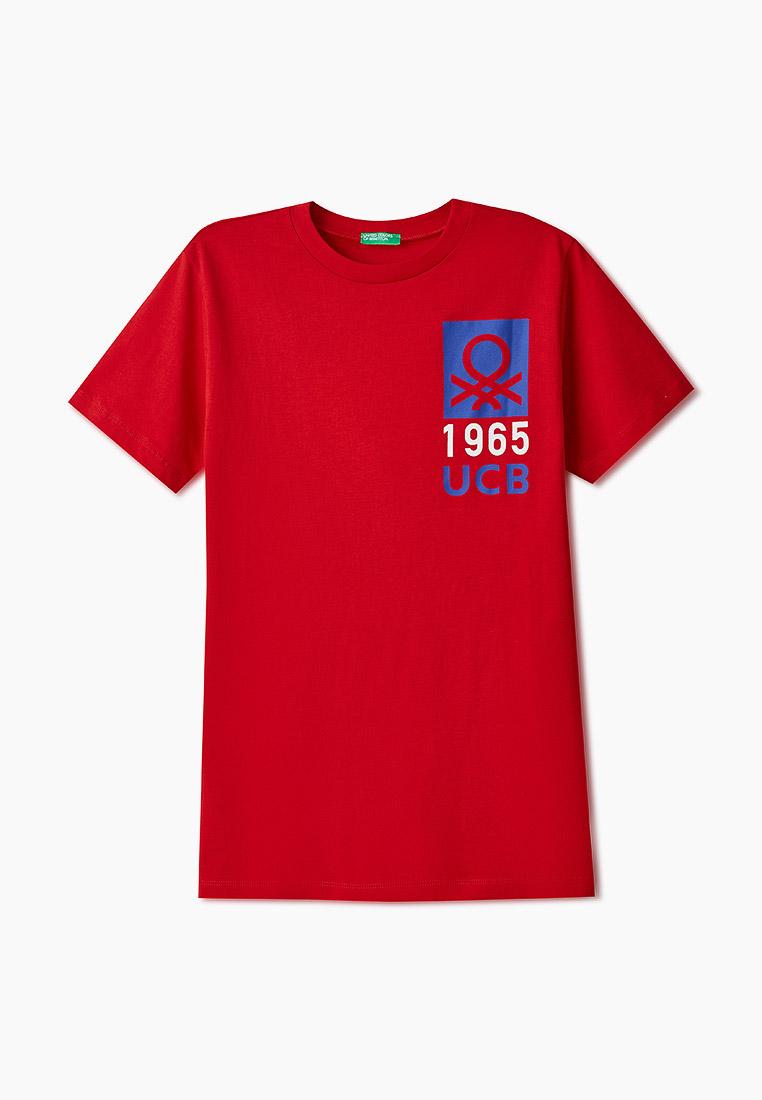 Футболка с коротким рукавом United Colors of Benetton (Юнайтед Колорс оф Бенеттон) Футболка United Colors of Benetton
