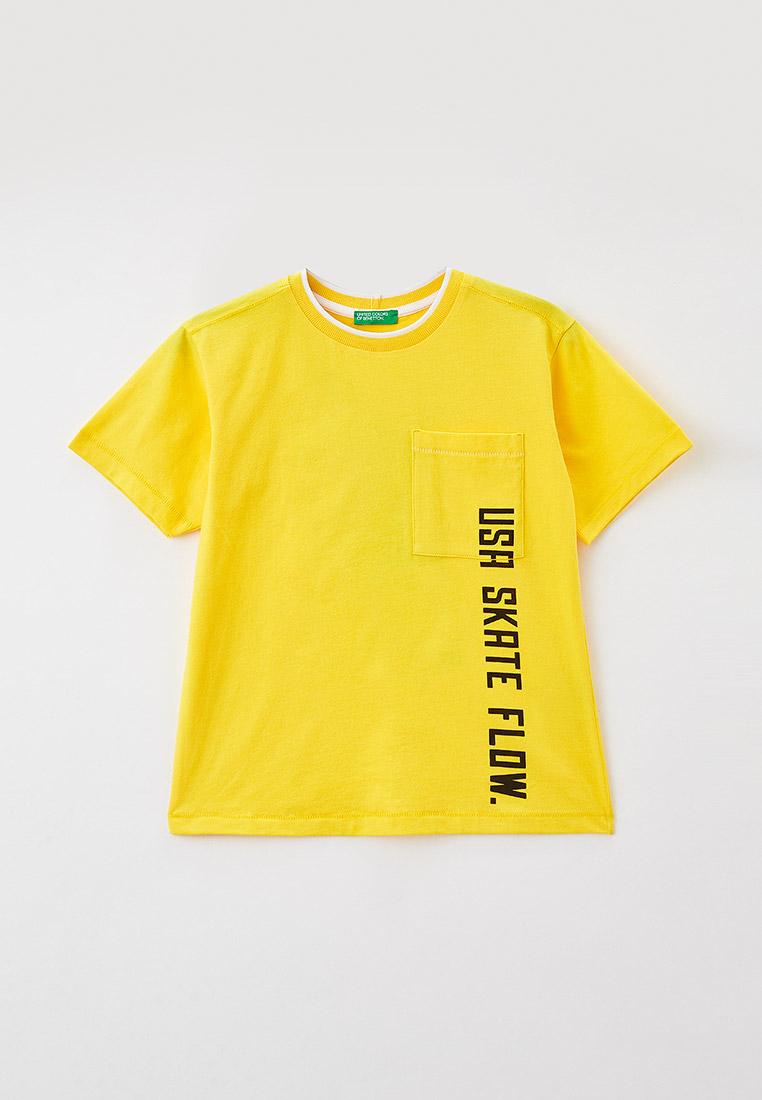 Футболка с коротким рукавом United Colors of Benetton (Юнайтед Колорс оф Бенеттон) 3096C154X