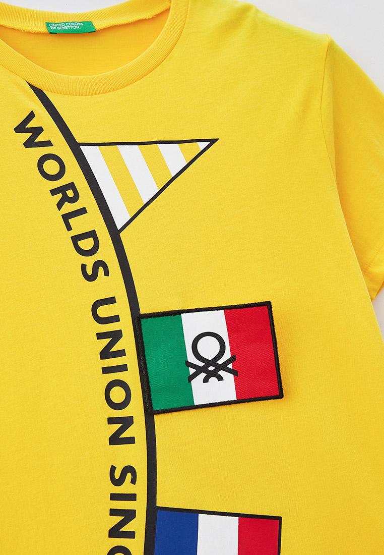 Футболка с коротким рукавом United Colors of Benetton (Юнайтед Колорс оф Бенеттон) 3096C1582: изображение 3
