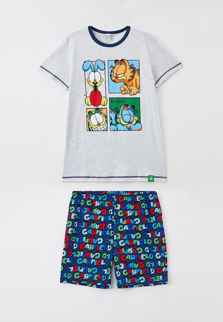Пижамы для мальчиков United Colors of Benetton (Юнайтед Колорс оф Бенеттон) Пижама United Colors of Benetton