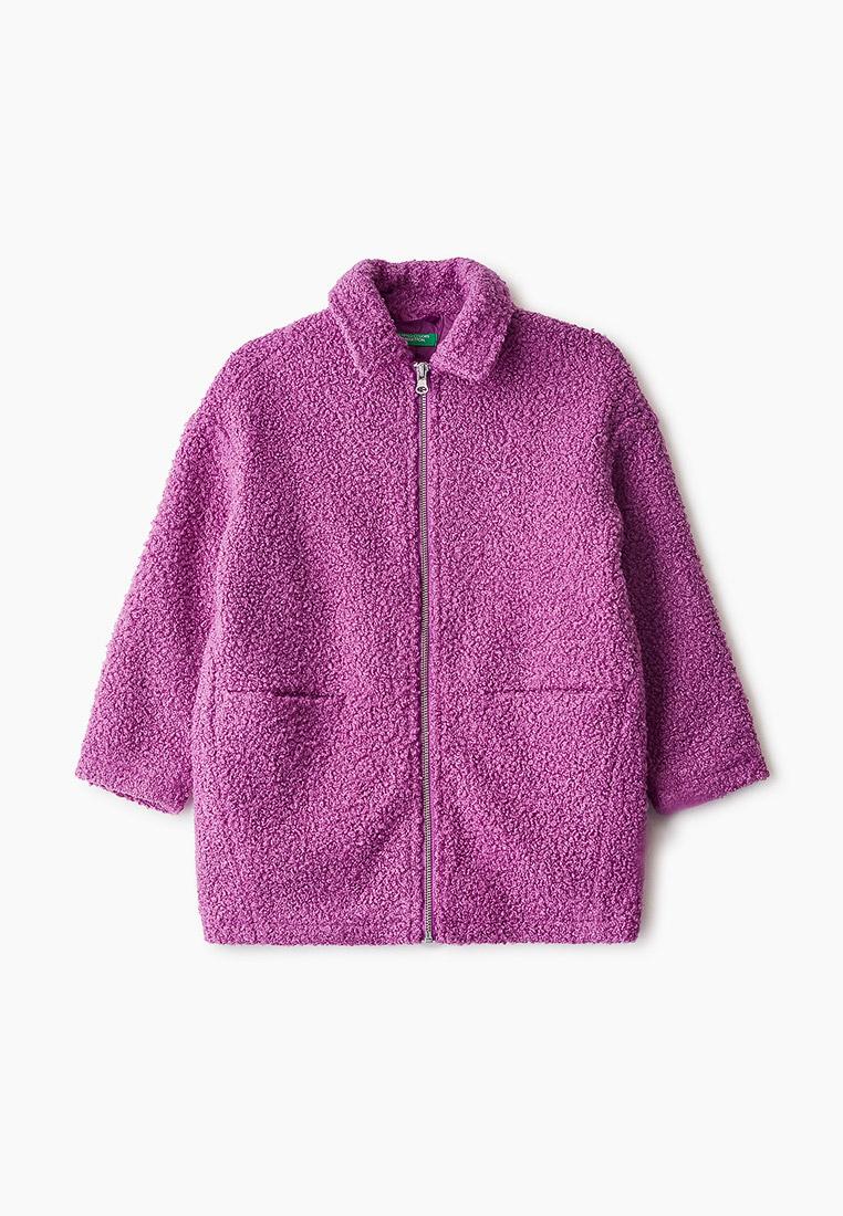 Пальто для девочек United Colors of Benetton (Юнайтед Колорс оф Бенеттон) 2HR95K080
