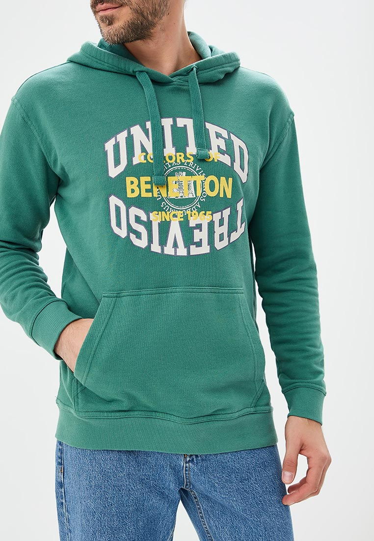 Мужские худи United Colors of Benetton (Юнайтед Колорс оф Бенеттон) 3J68J2100