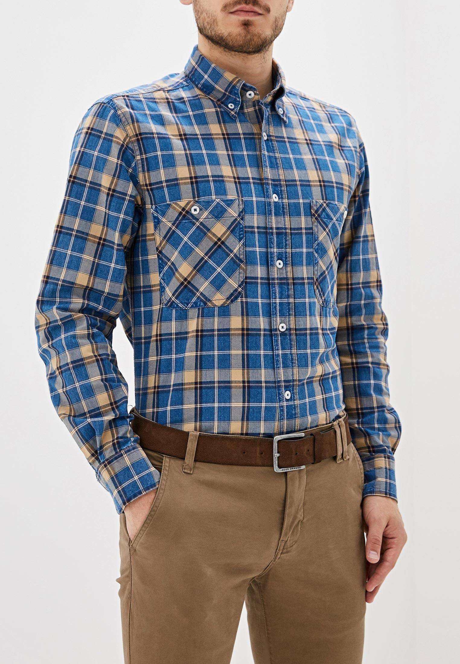 Рубашка с длинным рукавом United Colors of Benetton (Юнайтед Колорс оф Бенеттон) 5KF05QI98