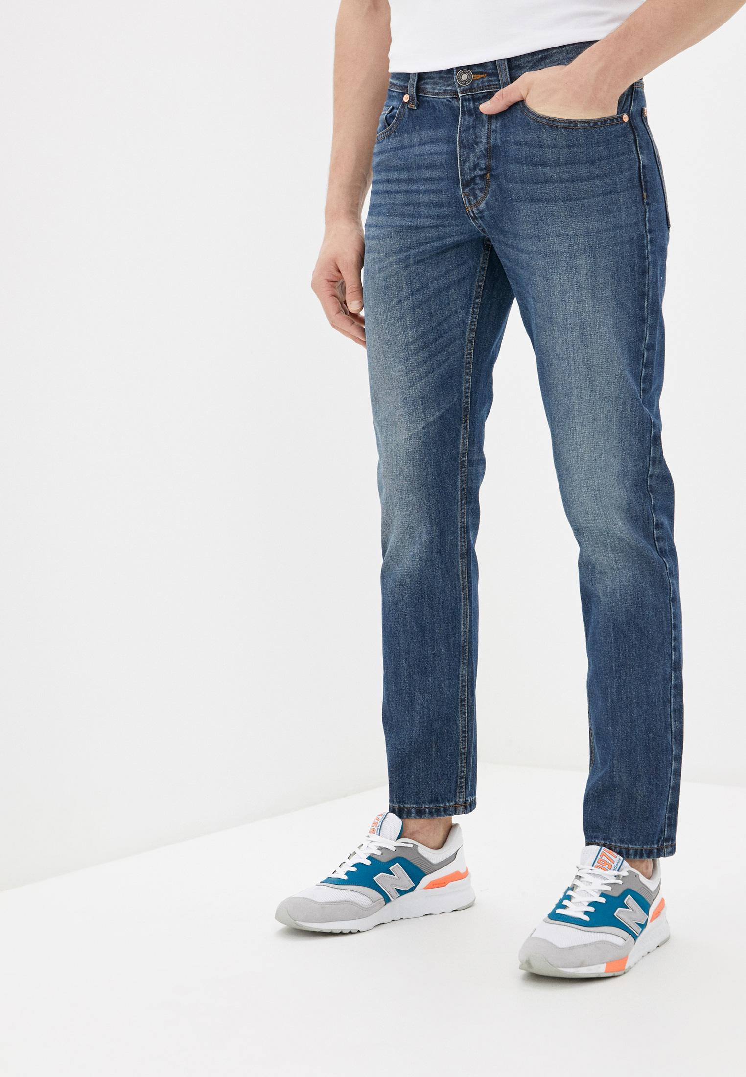 Мужские прямые джинсы United Colors of Benetton (Юнайтед Колорс оф Бенеттон) 4AW757B88