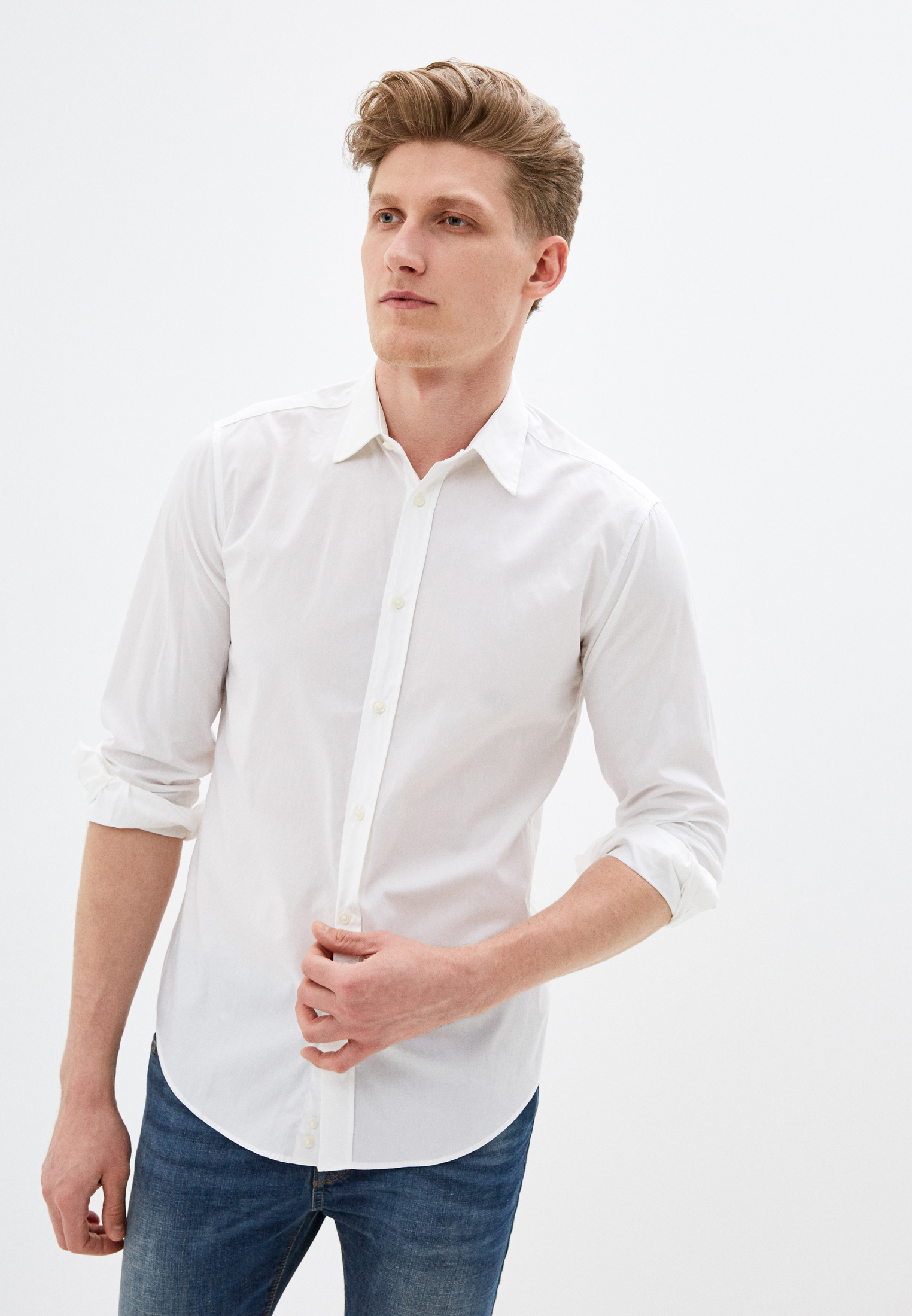 Рубашка с длинным рукавом United Colors of Benetton (Юнайтед Колорс оф Бенеттон) 5APT5QE08