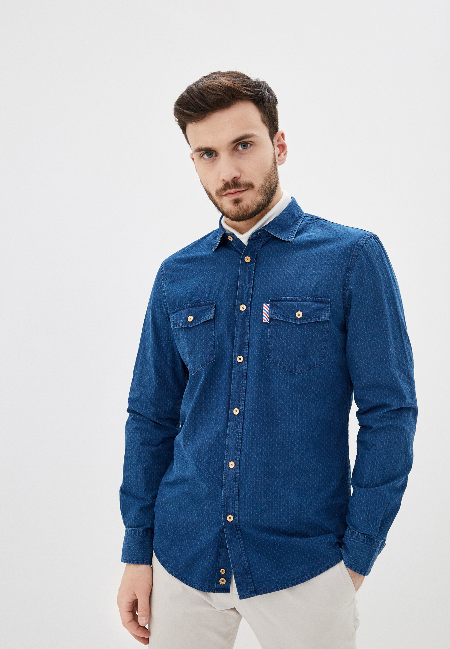 Рубашка с длинным рукавом United Colors of Benetton (Юнайтед Колорс оф Бенеттон) 5SM65QJN8