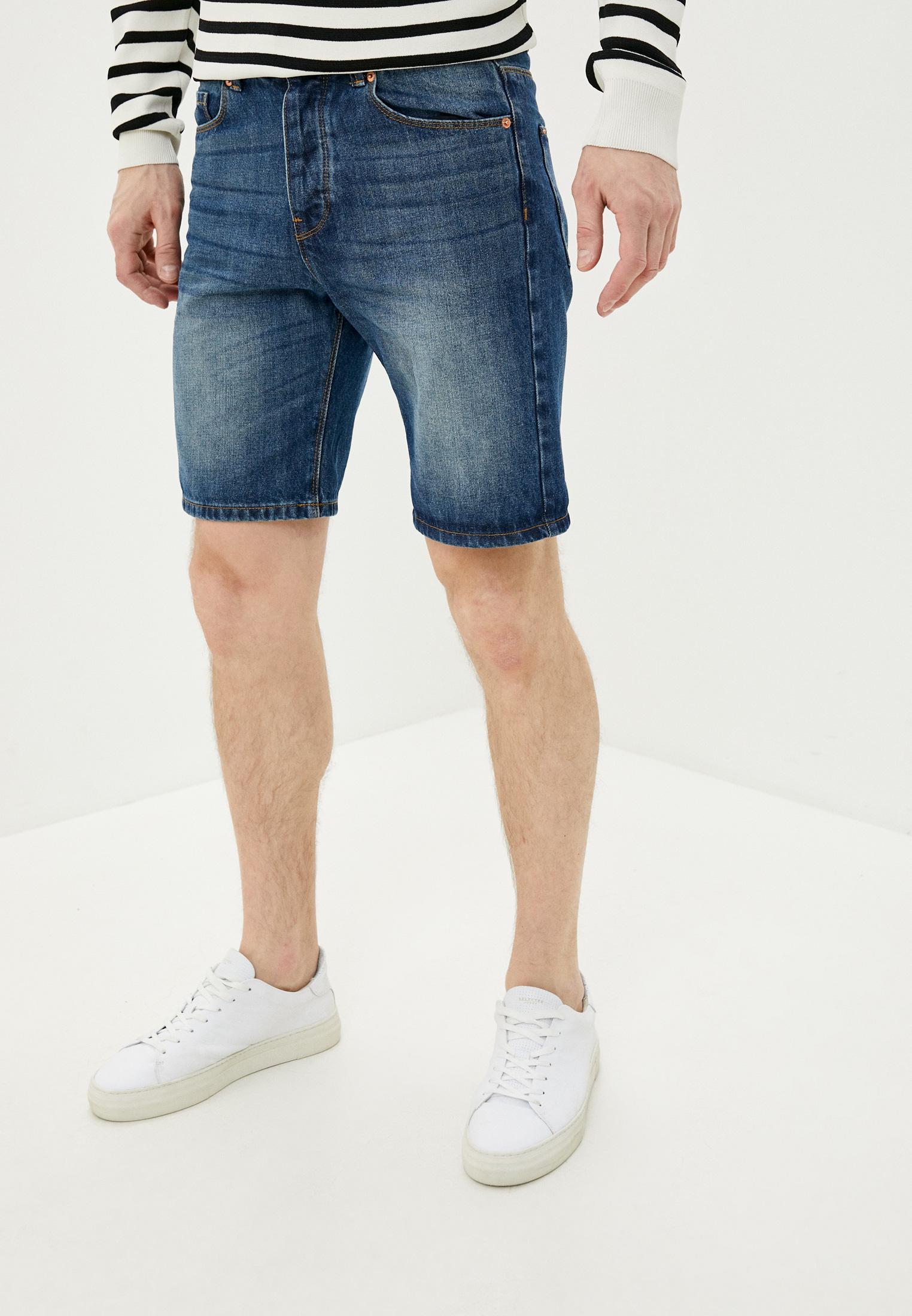 Мужские джинсовые шорты United Colors of Benetton (Юнайтед Колорс оф Бенеттон) 4AW759528