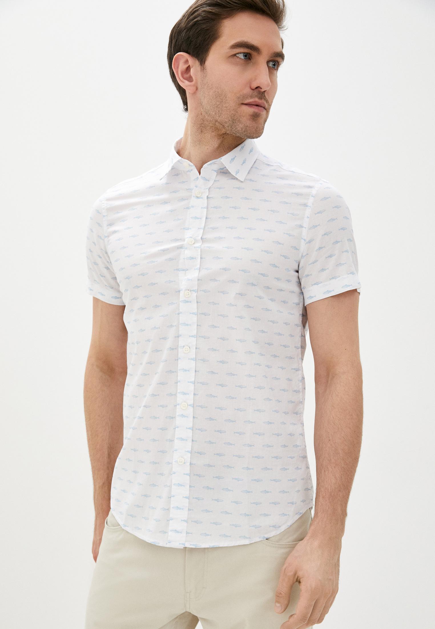 Рубашка с коротким рукавом United Colors of Benetton (Юнайтед Колорс оф Бенеттон) 5OP45QJK8