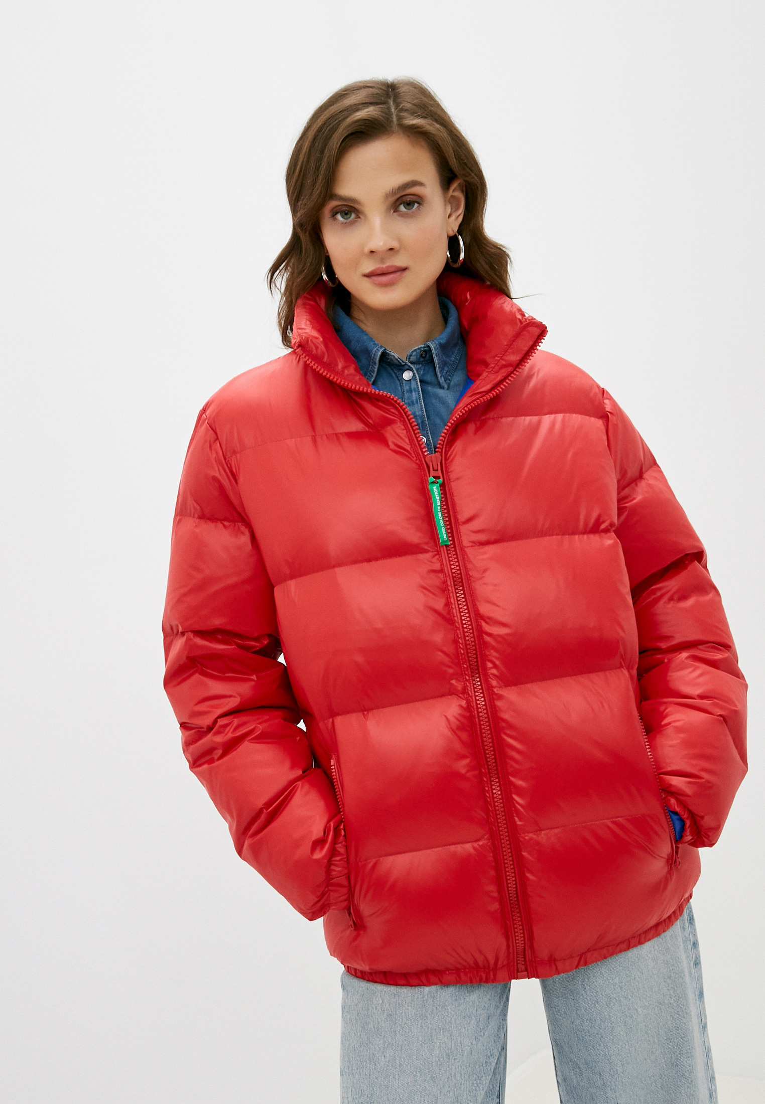 Утепленная куртка United Colors of Benetton (Юнайтед Колорс оф Бенеттон) 2RQ453FP8