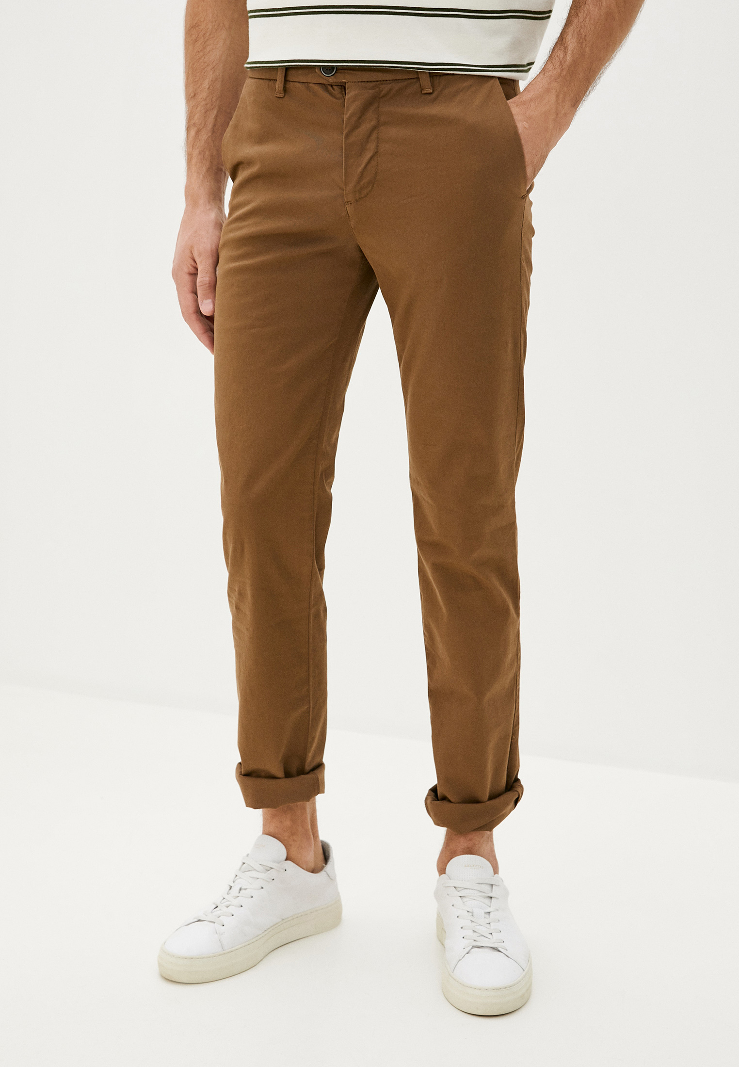 Мужские повседневные брюки United Colors of Benetton (Юнайтед Колорс оф Бенеттон) 4UN455GX8