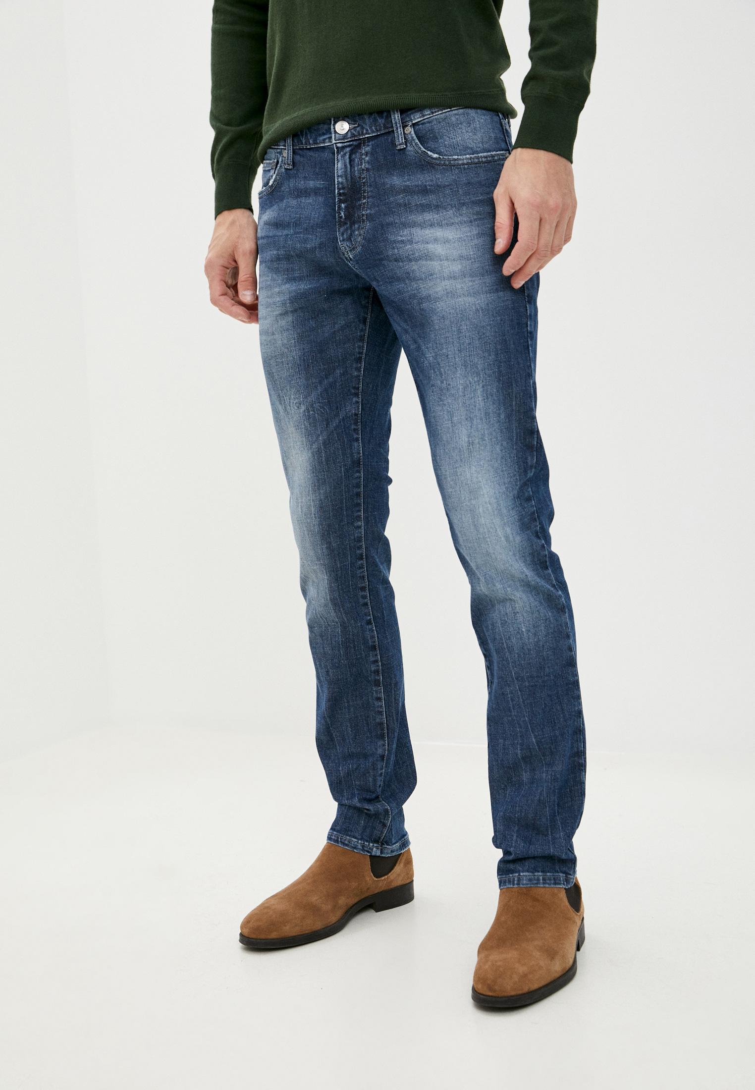 Мужские прямые джинсы United Colors of Benetton (Юнайтед Колорс оф Бенеттон) 4GZ757BY8