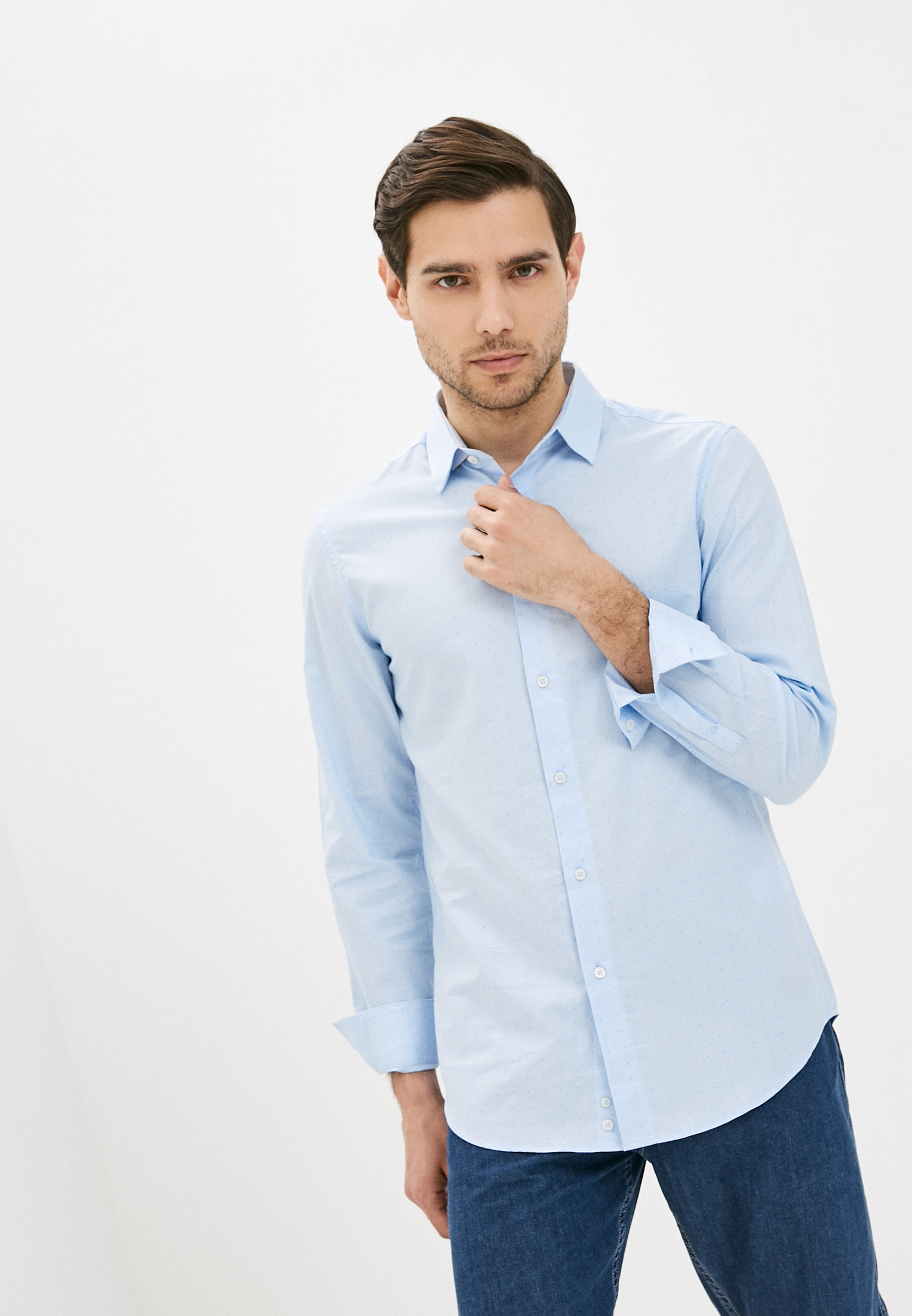 Рубашка с длинным рукавом United Colors of Benetton (Юнайтед Колорс оф Бенеттон) 5WYU5QL58