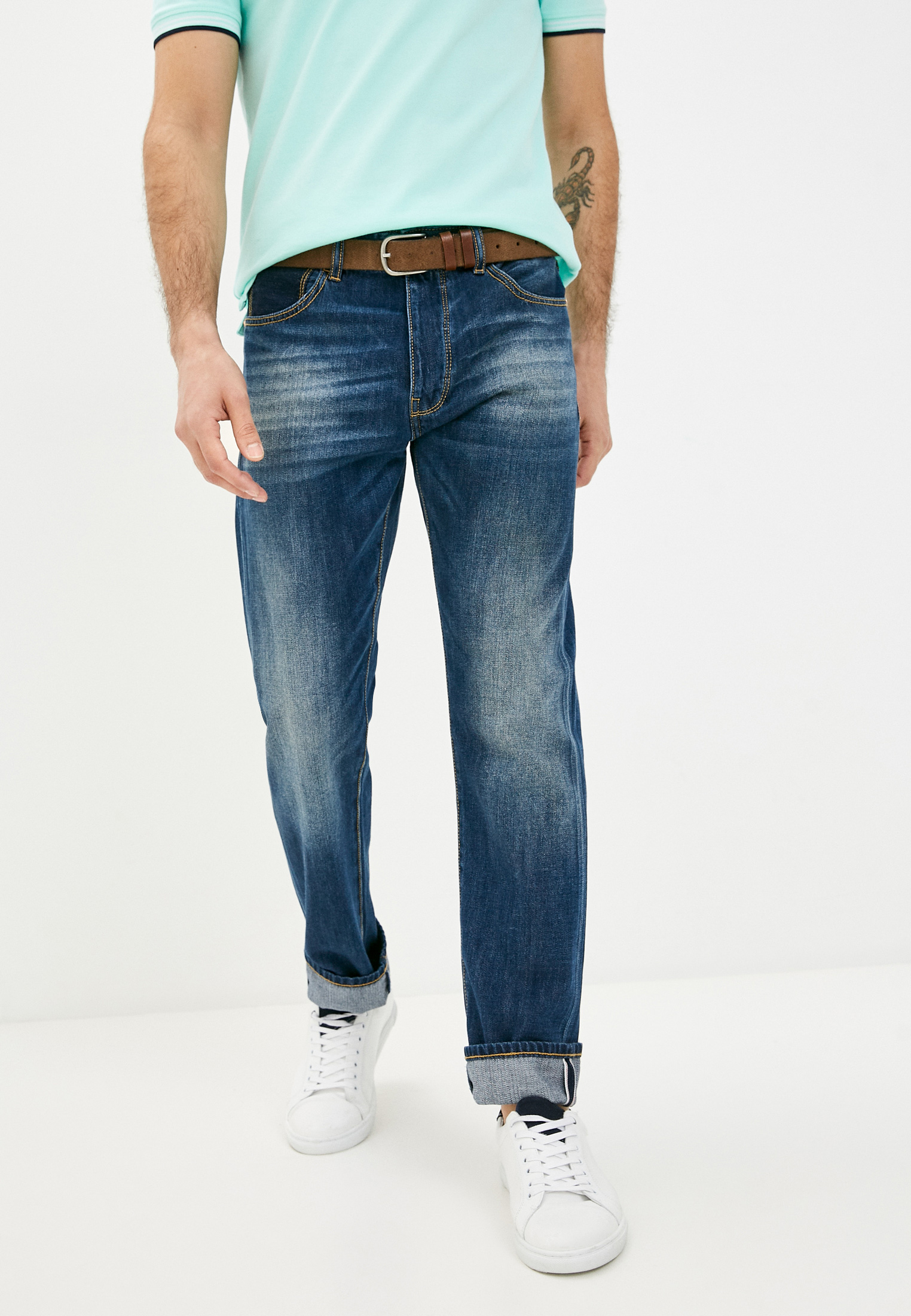 Зауженные джинсы United Colors of Benetton (Юнайтед Колорс оф Бенеттон) 4MBD57CK8