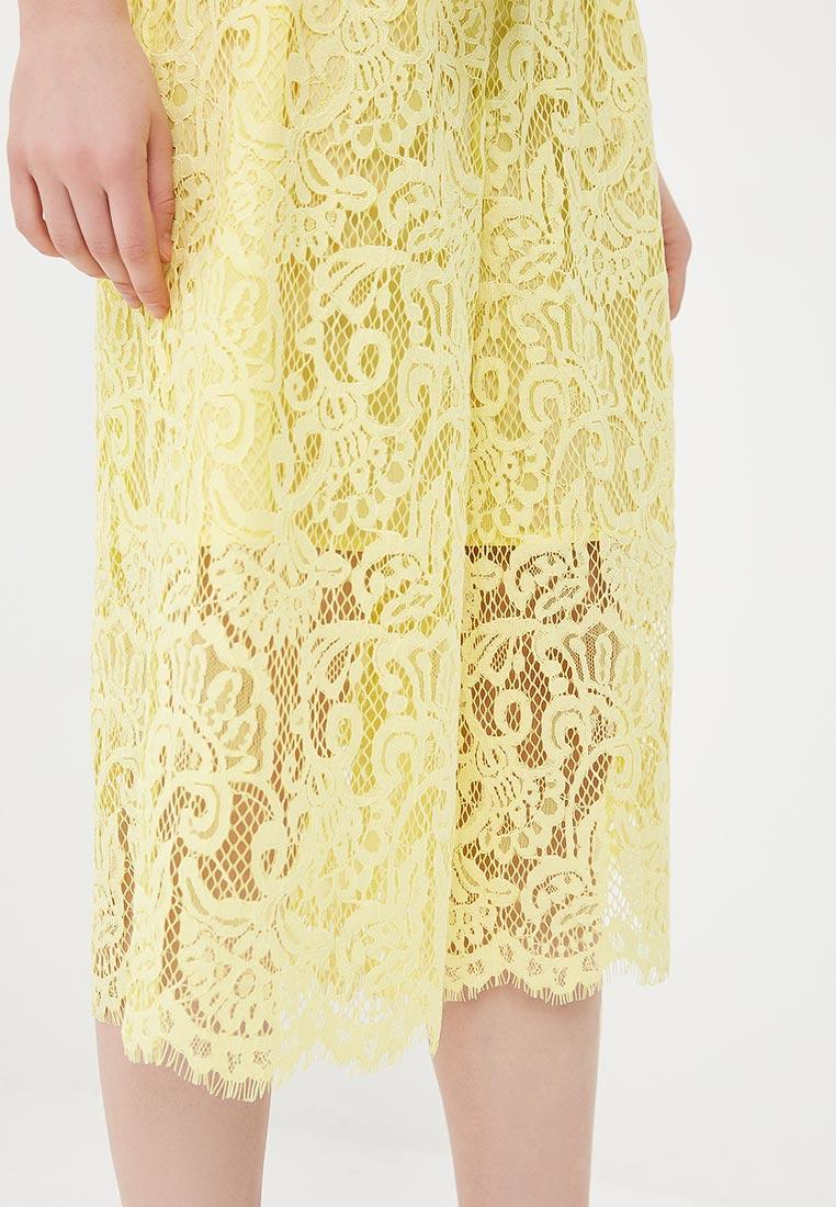 Женские широкие и расклешенные брюки United Colors of Benetton (Юнайтед Колорс оф Бенеттон) 4YT4556Y5: изображение 4
