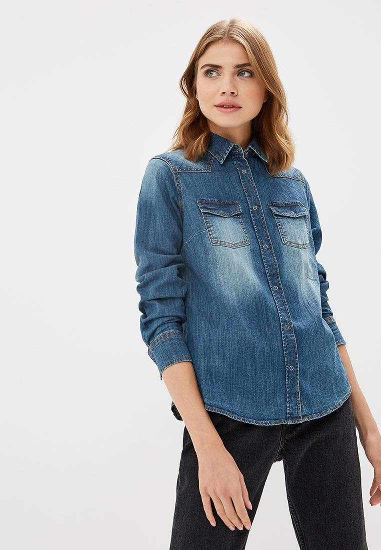 Женские джинсовые рубашки United Colors of Benetton (Юнайтед Колорс оф Бенеттон) 5DMU5Q9I5