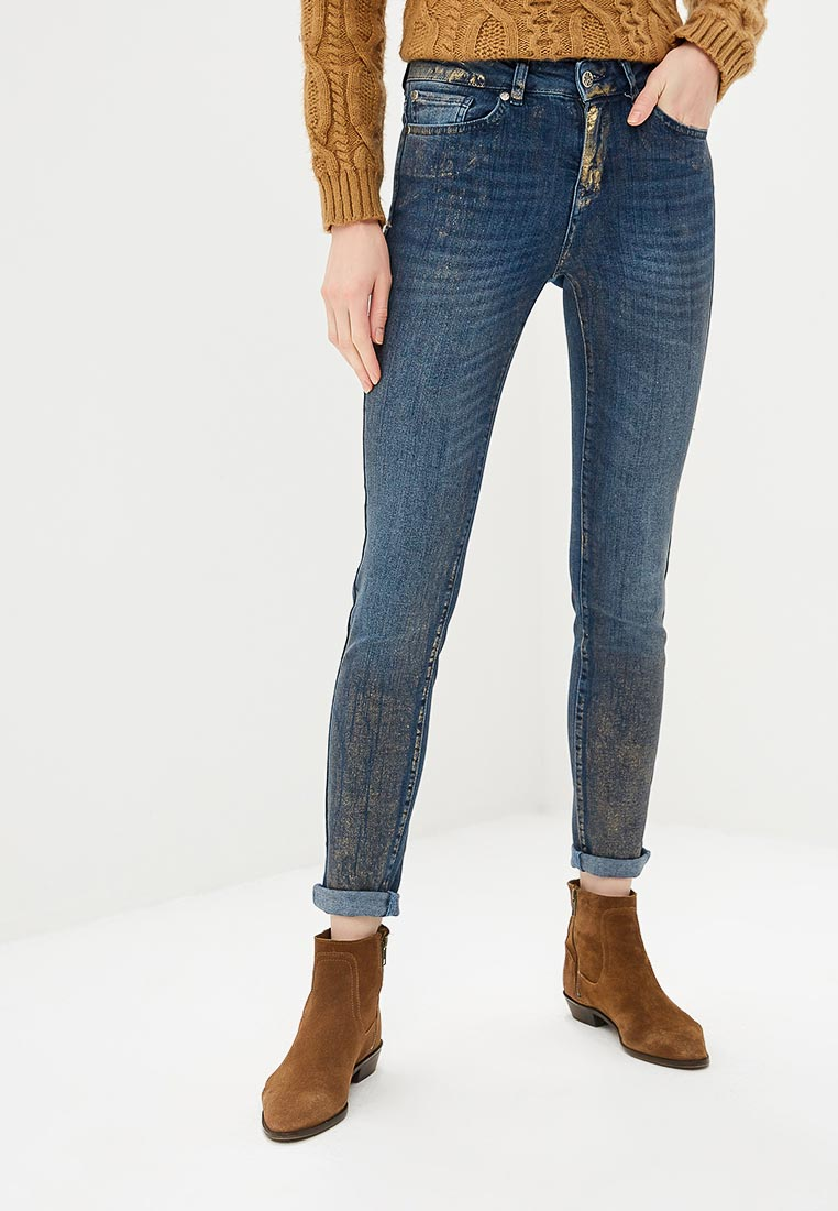 Зауженные джинсы United Colors of Benetton (Юнайтед Колорс оф Бенеттон) 4YK057415