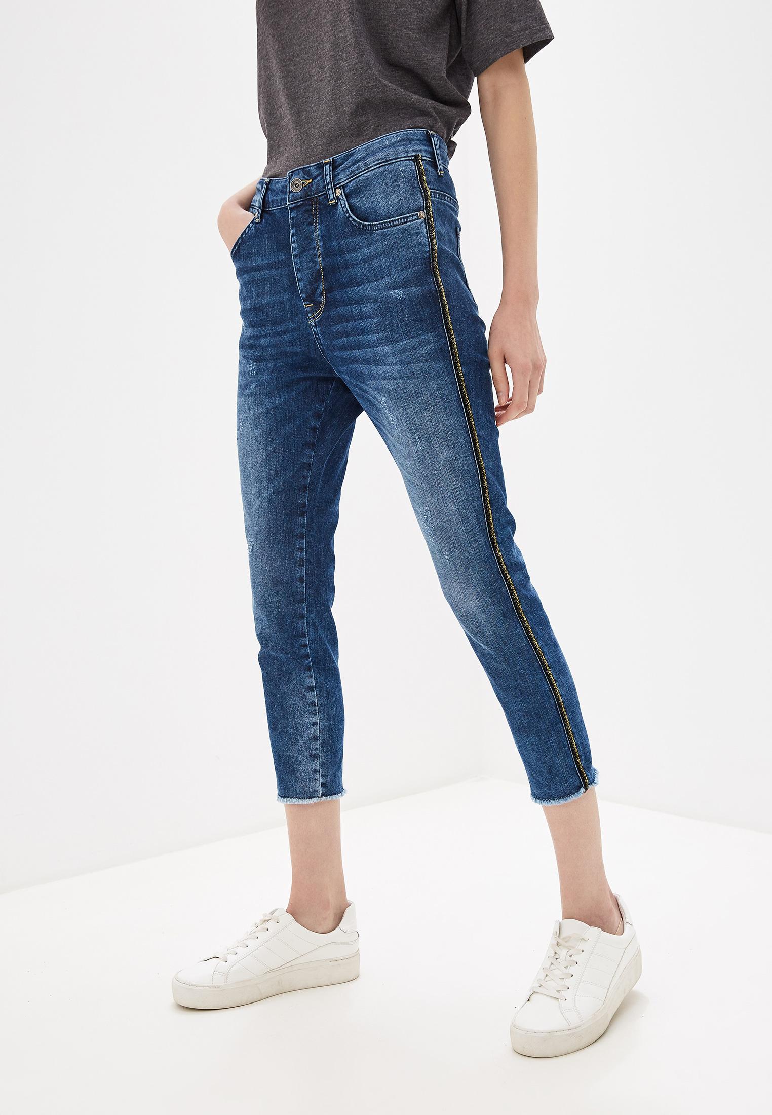 Зауженные джинсы United Colors of Benetton (Юнайтед Колорс оф Бенеттон) 4Z9R574D4