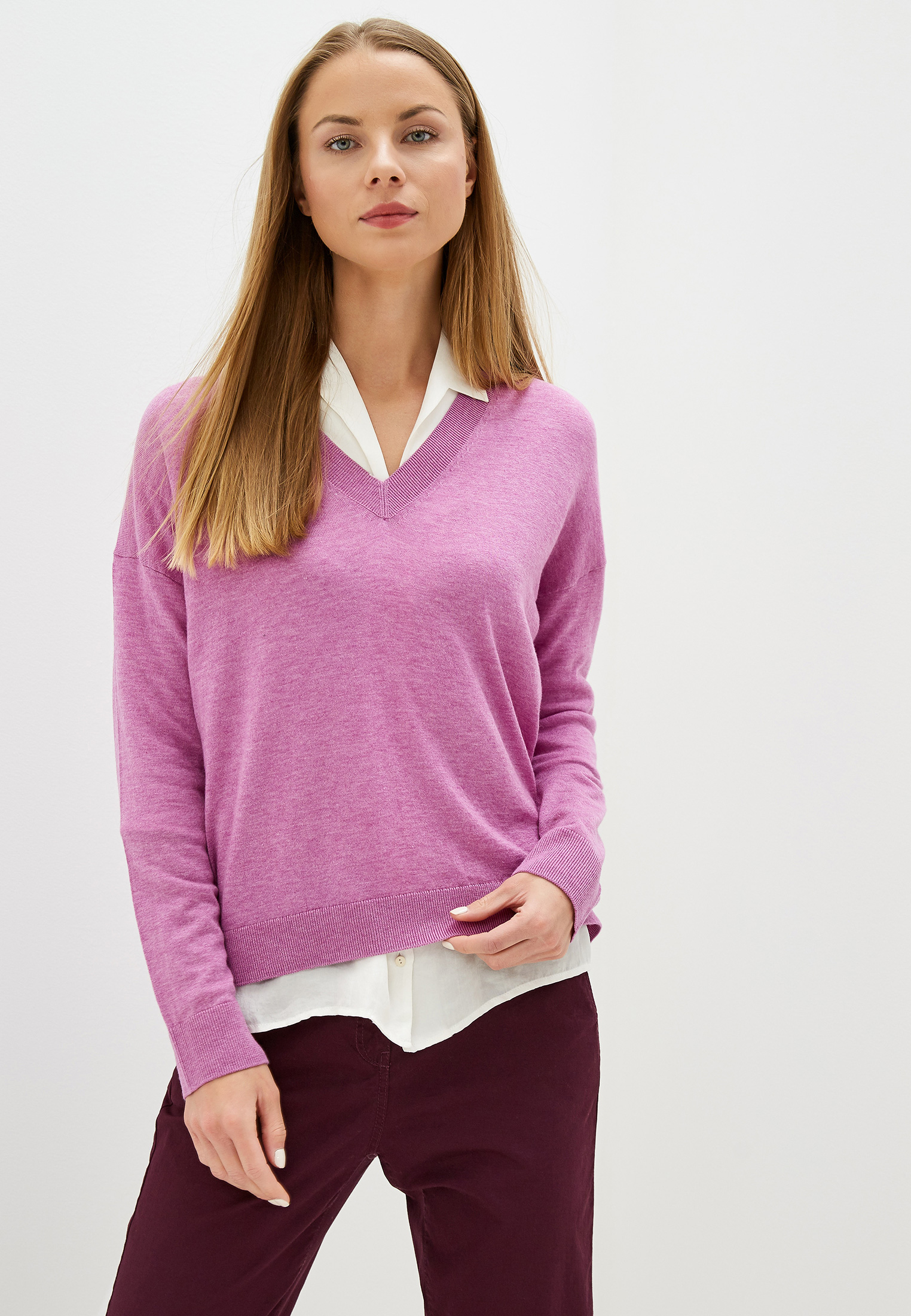 Пуловер United Colors of Benetton (Юнайтед Колорс оф Бенеттон) 16PDD4577
