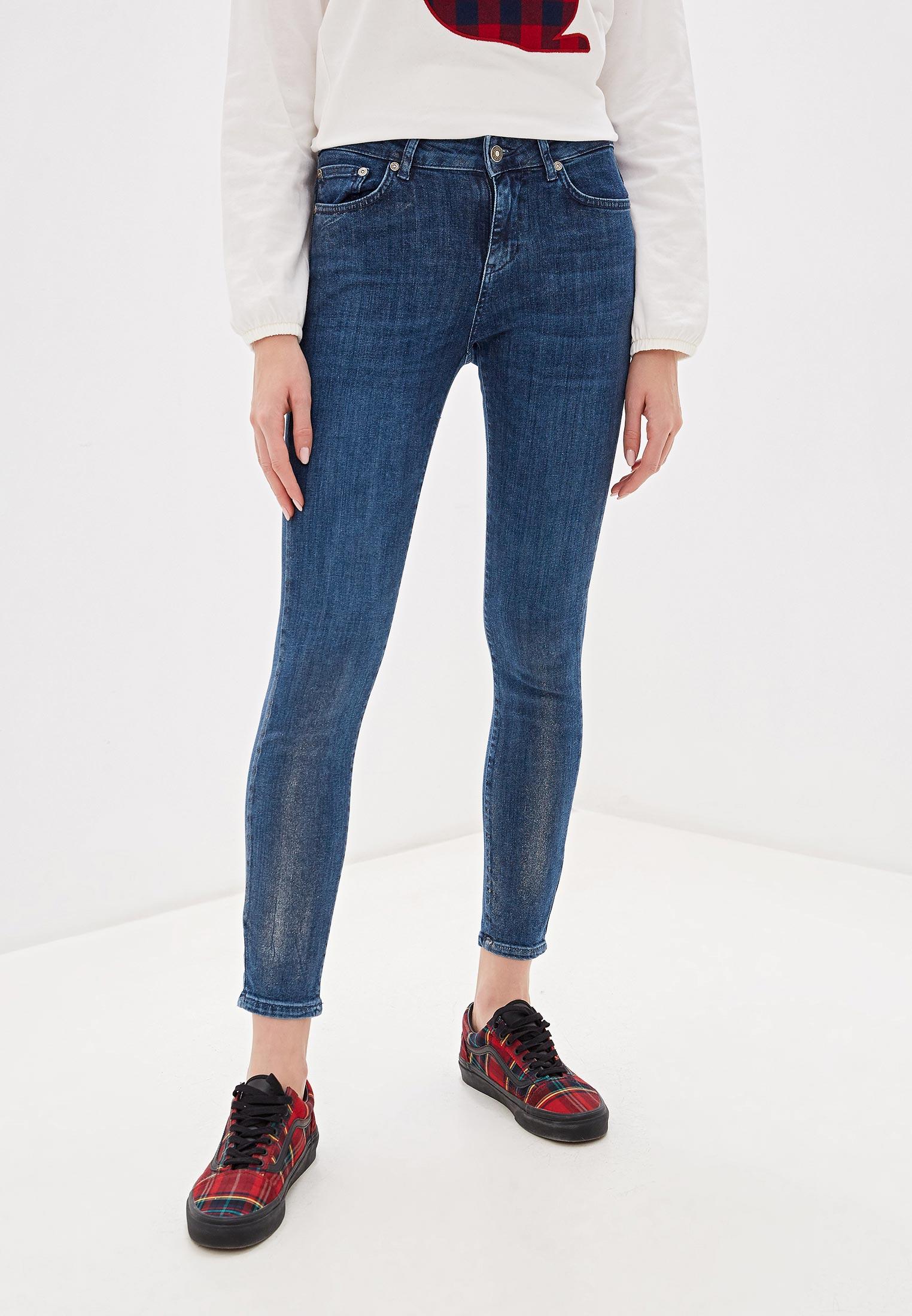 Зауженные джинсы United Colors of Benetton (Юнайтед Колорс оф Бенеттон) 4YK0574L4