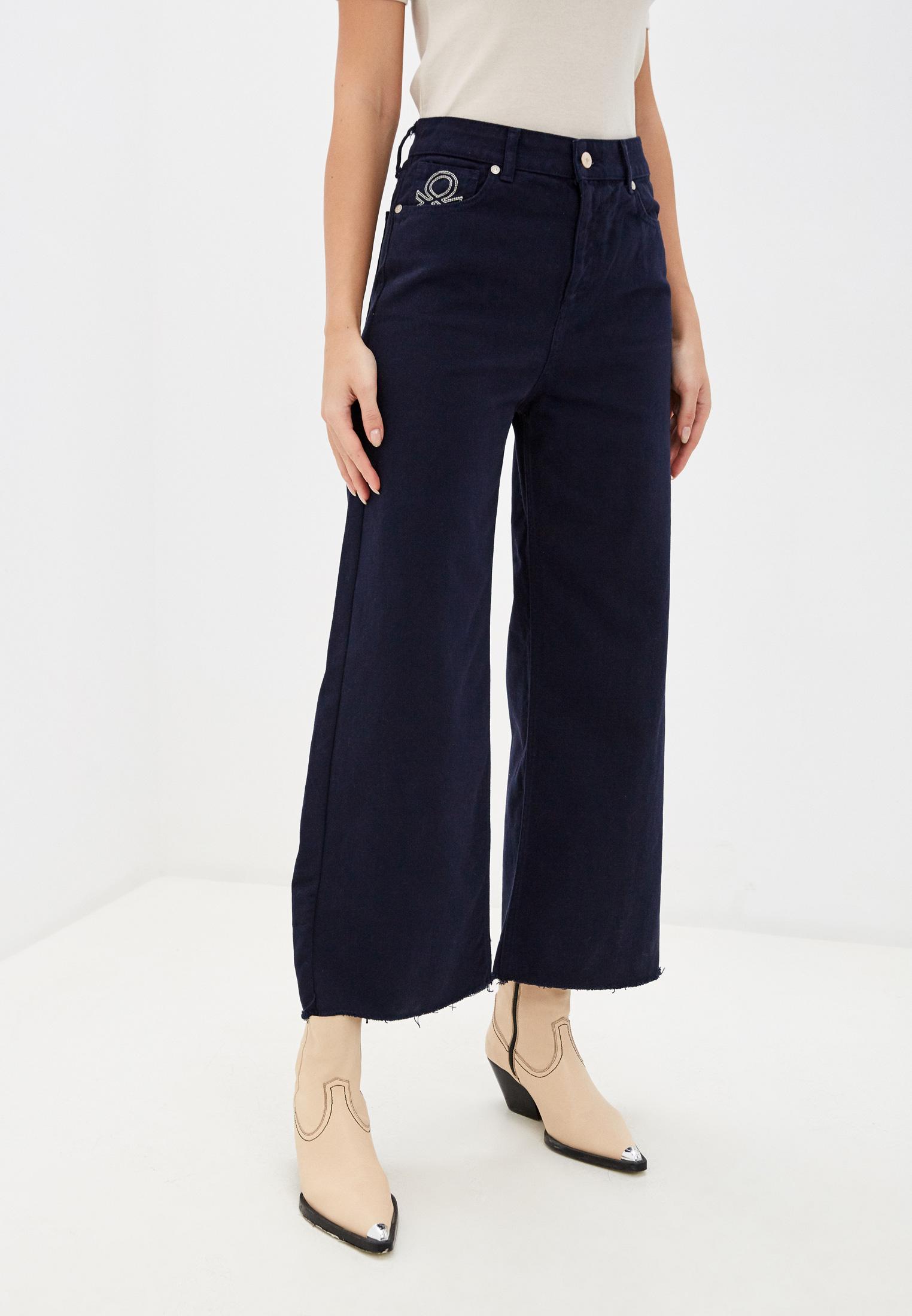 Широкие и расклешенные джинсы United Colors of Benetton (Юнайтед Колорс оф Бенеттон) 4IH6574J5