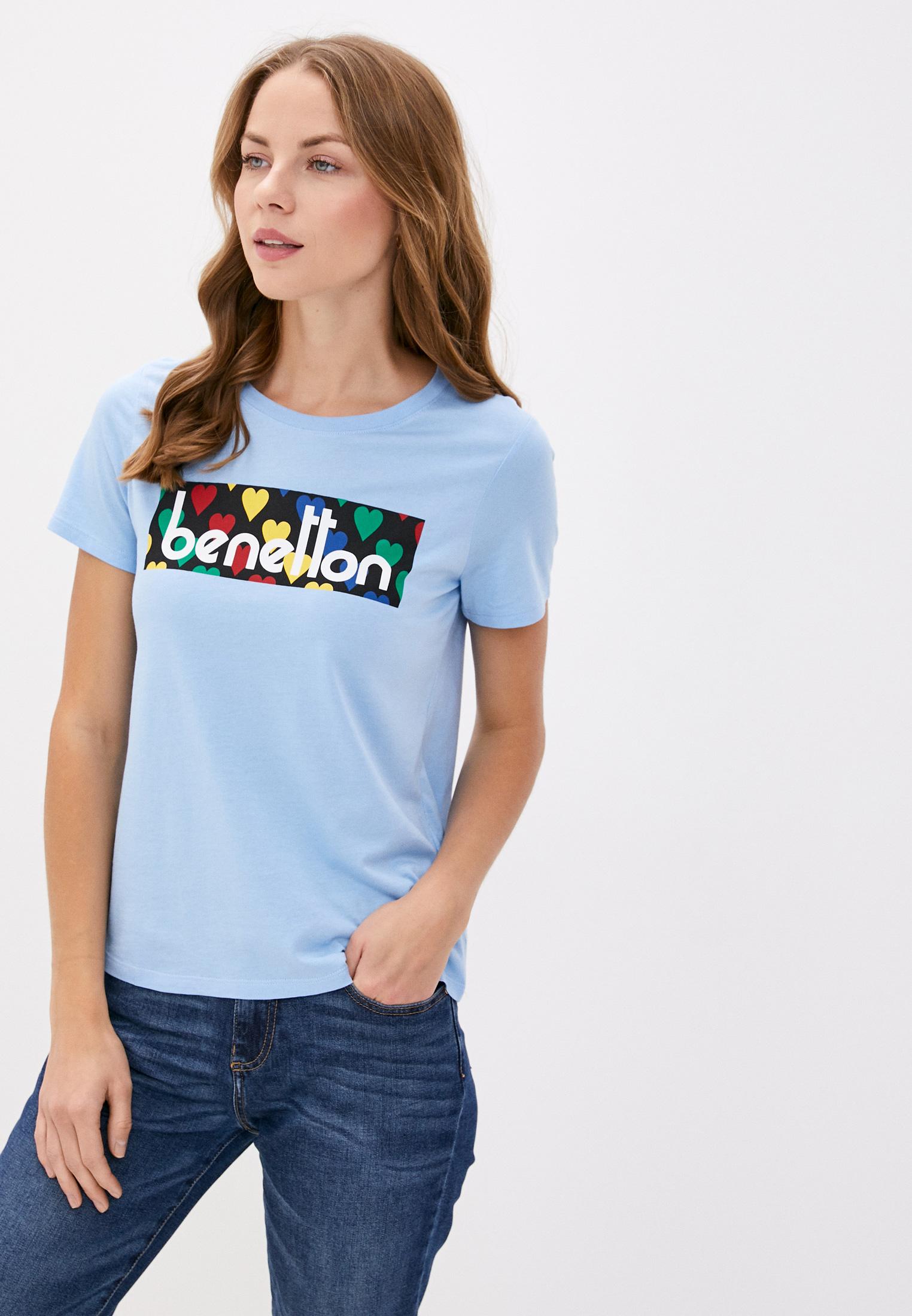 Футболка с коротким рукавом United Colors of Benetton (Юнайтед Колорс оф Бенеттон) 3P1ZE17G4