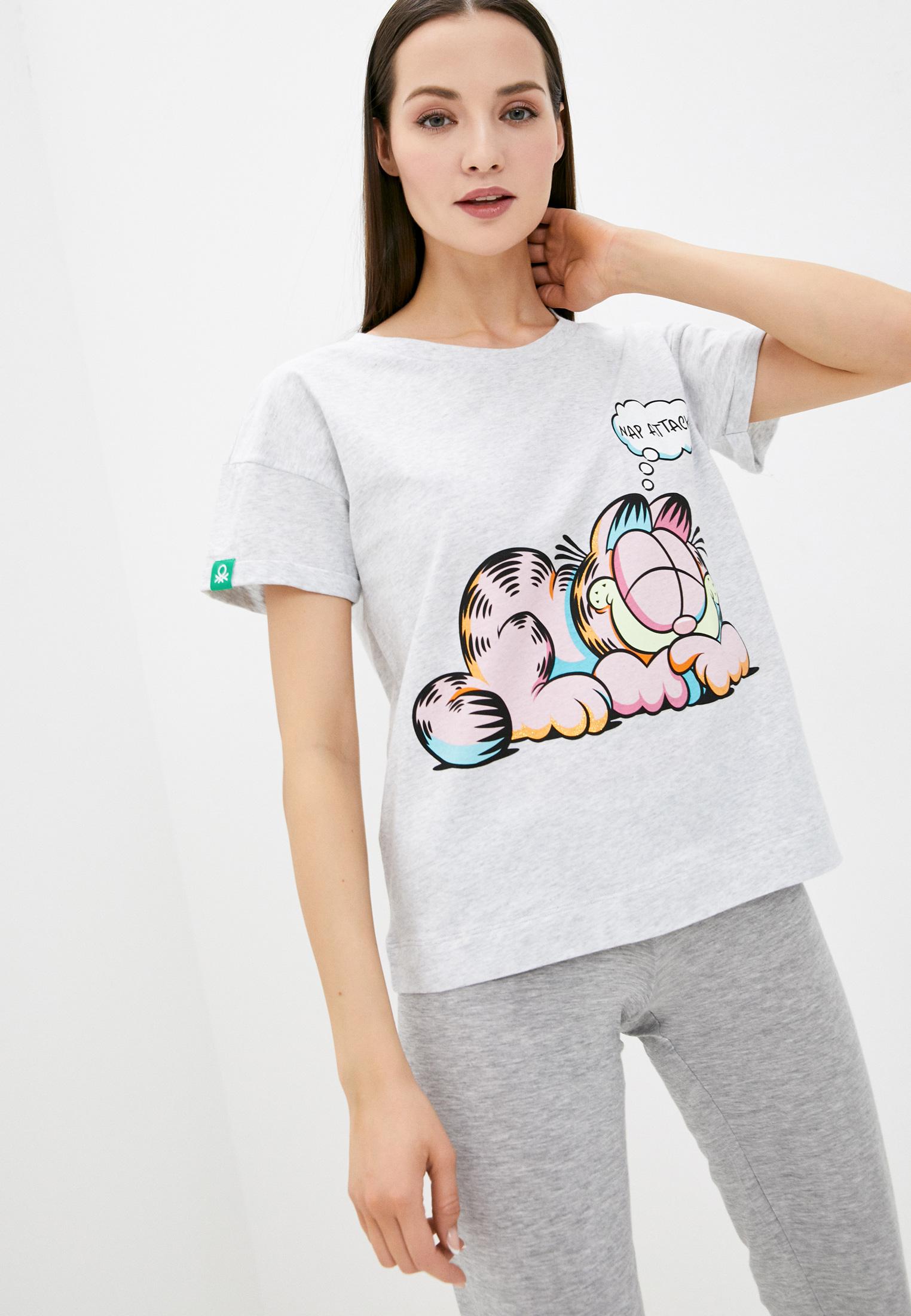 Домашняя футболка United Colors of Benetton (Юнайтед Колорс оф Бенеттон) 30963M818