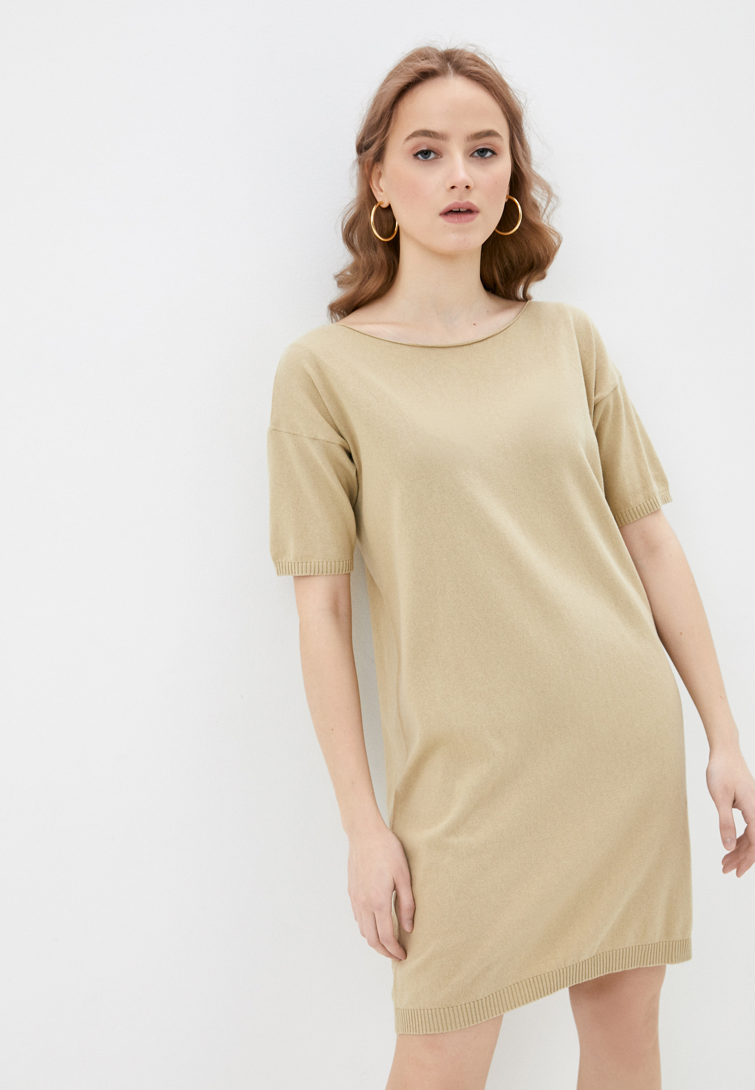 Вязаное платье United Colors of Benetton (Юнайтед Колорс оф Бенеттон) 1028V1O65